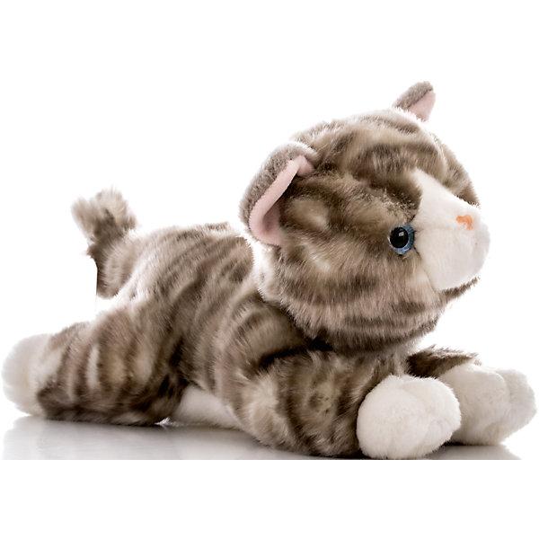 Мягкая игрушка Котенок серый, 28 см, AURORAМягкие игрушки животные<br>Красивый котик с серой шерсткой, обязательно понравится Вашему ребенку! Котик невероятно мягкий, у него серый хвостик и милый розовый носик, а еще, у котика очаровательные глазки.<br><br>Дополнительная информация:<br><br>- Возраст: от 3 лет.<br>- Материал: плюш, синтепон.<br>- Цвет: серый<br>- Высота игрушки: 28 см.<br><br>Купить мягкую игрушку Котик можно в нашем магазине.<br><br>Ширина мм: 250<br>Глубина мм: 110<br>Высота мм: 140<br>Вес г: 231<br>Возраст от месяцев: 36<br>Возраст до месяцев: 120<br>Пол: Унисекс<br>Возраст: Детский<br>SKU: 4929034