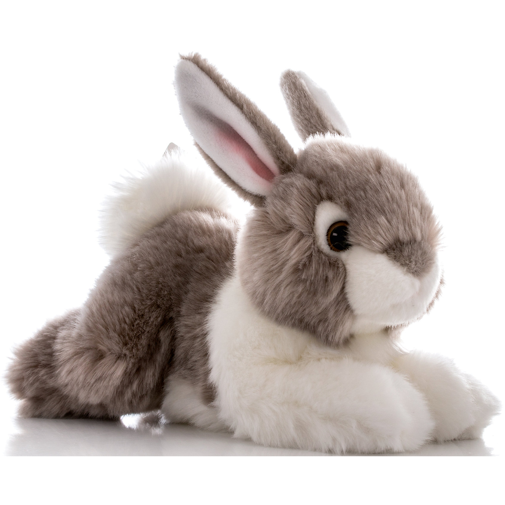 AURORA Мягкая игрушка Кролик серый, 28 см, AURORA aurora мягкая игрушка тигр 28 см