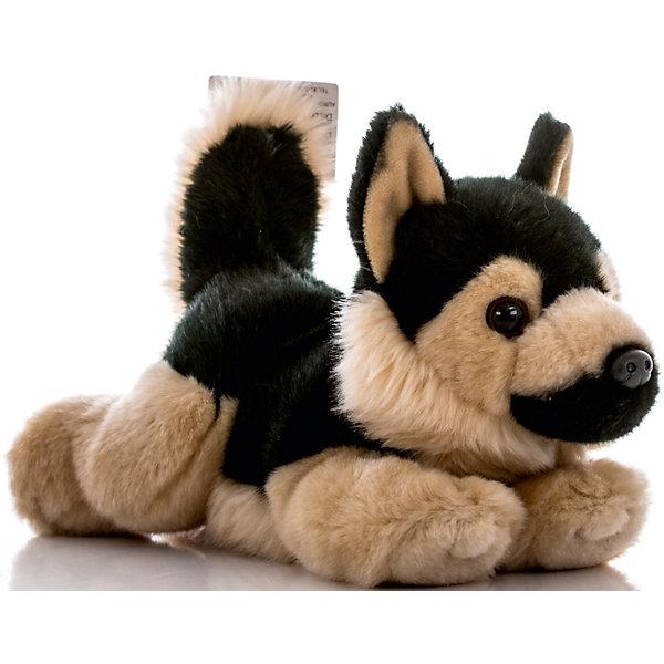 Мягкая игрушка Немецкая Овчарка, 28 см, AURORAМягкие игрушки животные<br>Красивый щенок с мягкой черно-коричневой шерсткой будет прекрасным подарком для Вашего ребенка!<br><br>Дополнительная информация:<br><br>- Возраст: от 3 лет.<br>- Материал: плюш, синтепон.<br>- Высота игрушки: 28 см.<br><br>Купить мягкую игрушку Немецкая Овчарка можно в нашем магазине.<br><br>Ширина мм: 100<br>Глубина мм: 270<br>Высота мм: 160<br>Вес г: 276<br>Возраст от месяцев: 36<br>Возраст до месяцев: 120<br>Пол: Унисекс<br>Возраст: Детский<br>SKU: 4929036