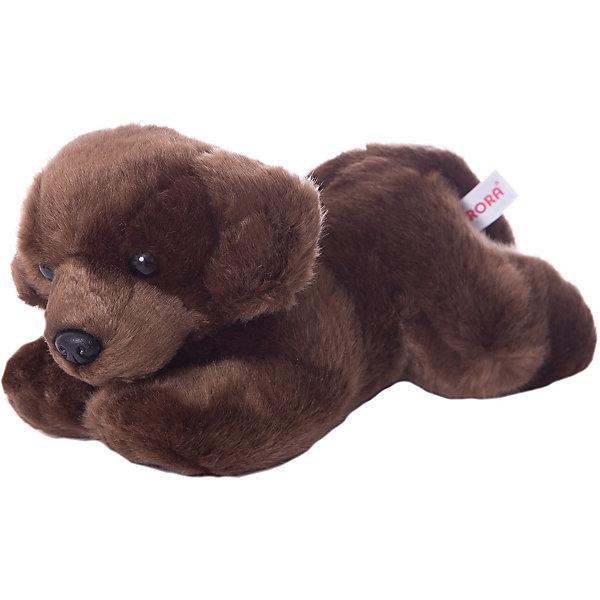 Мягкая игрушка Шоколадный лабрадор, 28 см, AURORAСимвол года<br>Характеристики:<br><br>• вес: 275г.;<br>• материал: плюш, синтепон;<br>• упаковка: пакет;<br>• размер игрушки:28см.;<br>• для детей в возрасте: от 3 лет;<br>• страна производитель: Южная Корея.<br><br>Мягкая игрушка «Шоколадный Лабрадор» бренда «AURORA» (Аврора) станет желанным подарком для маленьких девчонок и мальчишек. Она создана из качественных, не аллергенных материалов, что очень важно для детских товаров.<br><br>Милая плюшевая игрушка с шикарной шубкой привлечёт внимание любого ребёнка. Игрушка имеет оптимальный размер, её рост составляет двадцать восемь сантиметров. У неё мягкое тельце, блестящий чёрный носик и большие глазки. Пёсика можно брать с собой в путешествия и на прогулки, чтобы показывать подружкам и играть вместе сними. Игрушка надолго останется любимицей малыша, она не линяет и не деформируется даже при машинной стирке.<br><br>Играя, с мягкими игрушками дети получают позитивные тактильные ощущения, хорошо успокаиваются и засыпают.<br><br>Мягкую игрушку «Шоколадный Лабрадор» можно купить в нашем интернет-магазине.<br>Ширина мм: 120; Глубина мм: 250; Высота мм: 120; Вес г: 263; Возраст от месяцев: 36; Возраст до месяцев: 120; Пол: Унисекс; Возраст: Детский; SKU: 4929037;