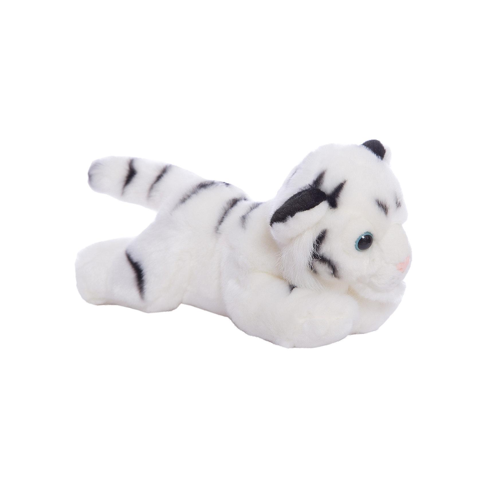 Мягкая игрушка Тигр белый, 28 см, AURORAЗвери и птицы<br>Очаровательный тигренок станет прекрасный сюрпризом для Вашего ребенка! К тому же, у него невероятно мягкая шерстка, красивая мордочка и очаровательные глазки!<br><br>Дополнительная информация:<br><br>- Возраст: от 3 лет.<br>- Материал: плюш, синтепон.<br>- Цвет: белый.<br>- Высота игрушки: 28 см.<br><br>Купить мягкую игрушку Тигренка в белом цвете, можно в нашем магазине.<br><br>Ширина мм: 280<br>Глубина мм: 110<br>Высота мм: 140<br>Вес г: 239<br>Возраст от месяцев: 36<br>Возраст до месяцев: 120<br>Пол: Унисекс<br>Возраст: Детский<br>SKU: 4929045