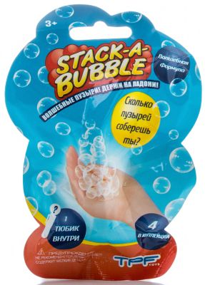 TPF Toys Застывающие Пузыри мини, Stack-A-Bubble фото-1