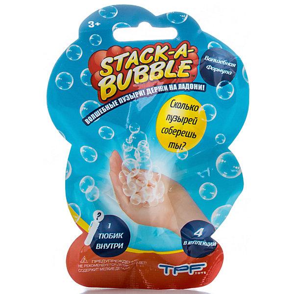 Застывающие Пузыри мини, Stack-A-BubbleМыльные пузыри<br>Застывающие чудо пузыри приятно удивят Вашего малыша!<br>Благодаря специальному составу при контакте с воздухом пузырики застывают сохраняя форму, теперь с ними можно играть, держать в руках или склеивать друг с другом!<br><br>Дополнительная информация: <br><br>- Возраст: от 3 лет.<br>- Цвет: в ассортименте.<br>- Размер упаковки: 3х9х3 см.<br><br>Купить мини Пузыри, в ассортименте, можно в нашем магазине.<br><br>Ширина мм: 23<br>Глубина мм: 36<br>Высота мм: 43<br>Вес г: 34<br>Возраст от месяцев: 36<br>Возраст до месяцев: 192<br>Пол: Унисекс<br>Возраст: Детский<br>SKU: 4929079