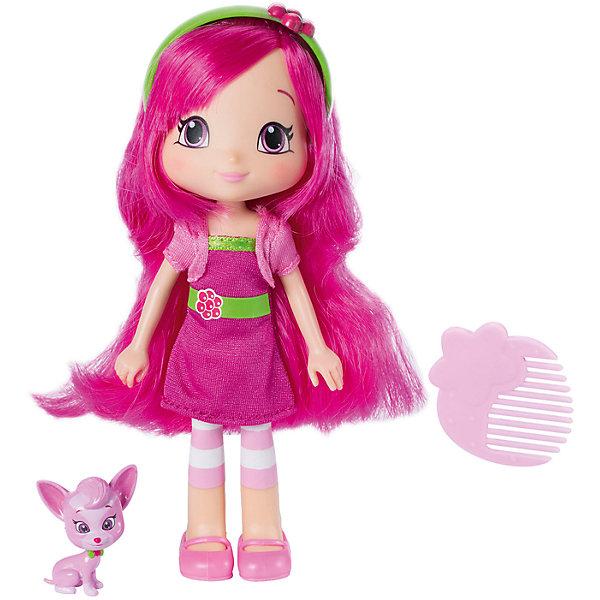 Кукла Малинка с питомцем, 15 см, Шарлотта Земляничка, The BridgeКуклы<br>Знакомьтесь, это Малина. У нее очень эффектная внешность, большие красивые глаза и милая улыбка. Она одета в розовое платье, короткий жакет и лосины в бело-розовую полоску. Так же, у Малины длинные волосы, с которыми можно делать самые разнообразные прически!<br><br>Дополнительная информация:<br><br>- Возраст: от 3 лет.<br>- В наборе: кукла, питомец, аксессуар.<br>- Материал: пластик, текстиль.<br>- Размер куклы: 15 см.<br>- Размер упаковки: 20х6х15 см.<br><br>Купить куклу Малина с питомцем, можно в нашем магазине.<br><br>Ширина мм: 150<br>Глубина мм: 60<br>Высота мм: 210<br>Вес г: 156<br>Возраст от месяцев: 36<br>Возраст до месяцев: 120<br>Пол: Женский<br>Возраст: Детский<br>SKU: 4929089