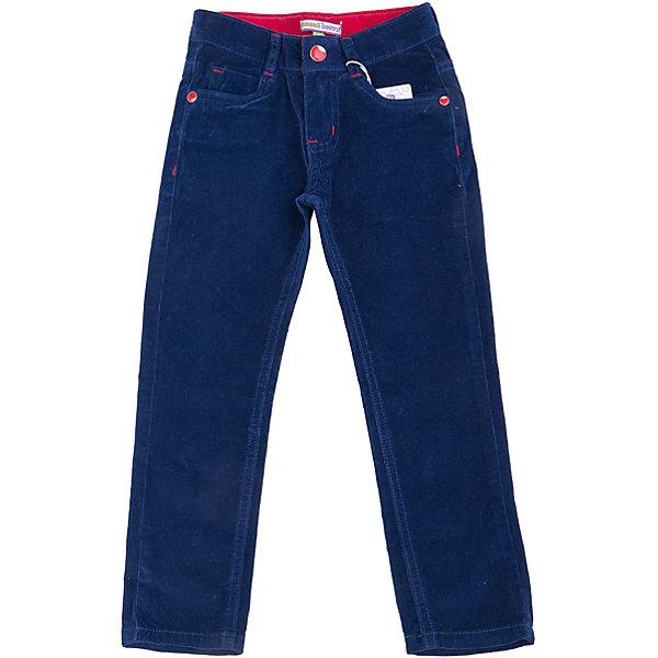 Брюки для девочки Sweet BerryБрюки<br>Плотные однотонные темно-синие вельветовые брюки для девочки торговой марки Sweet Berry идеально подойдут вашей девочке для отдыха и прогулок. Изготовленные из эластичного хлопка, они необычайно мягкие и приятные на ощупь, не сковывают движения и позволяют коже дышать, не раздражают нежную и чувствительную кожу ребенка, обеспечивая ему  комфорт. Брюки прямого покроя на талии застегиваются на металлическую пуговицу и имеют ширинку на застежке-молнии и шлевки для ремня. С внутренней стороны пояс регулируется эластичной резинкой на пуговицах. Спереди предусмотрены два втачных кармана и маленький накладной кармашек, а сзади - два накладных кармана. Оформлено изделие нашивкой, фигурными прострочками и металлическими клепками . Современный дизайн и расцветка делают эти брюки модным и стильным предметом детского гардероба. В них ваша маленькая модница всегда будет в центре внимания!<br>Инструкция по уходу: стирка при температуре до 30°C, гладить при низкой температуре, не отбеливать, химчистка запрещена.<br><br> Дополнительная информация:<br><br>- комплектация : брюки для девочек<br>- материал : 98% хлопок, 2% эластан<br>- коллекция: осень-зима 2016<br>- сезон: зима<br>- пол: для девочек<br>- возраст: детский<br>- цвет: темно-синий. <br>- размер упаковки (дхшхв), 25 * 20 * 5 см<br>- вес в упаковке, 265 г<br><br>Брюки для девочки торговой марки Sweet Berry можно купить в нашем интернет-магазине<br><br>Ширина мм: 215<br>Глубина мм: 88<br>Высота мм: 191<br>Вес г: 336<br>Цвет: синий<br>Возраст от месяцев: 24<br>Возраст до месяцев: 36<br>Пол: Женский<br>Возраст: Детский<br>Размер: 98,104,110,116,122,128<br>SKU: 4929408