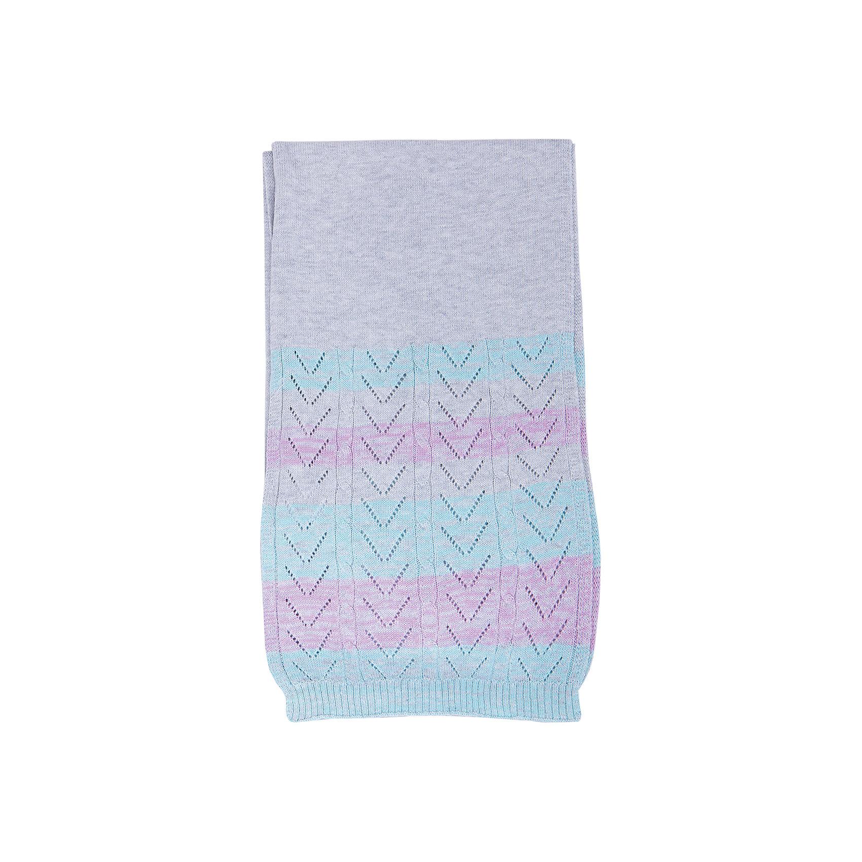 Шарф для девочки LuminosoШарфы, платки<br>Характеристики товара:<br><br>- цвет: разноцветный;<br>- материал: 60% хлопок, 40% акрил;<br>- тонкая пряжа;<br>- резинка по низу;<br>- вязаный узор.<br><br>Стильная одежда от бренда Luminoso (Люминосо), созданная при участии итальянских дизайнеров, учитывает потребности подростков и последние веяния моды. Она удобная и модная.<br>Этот вязаный шарф - для прохладной погоды. Он хорошо сидит на ребенке, обеспечивает комфорт и отлично сочетается с одежной разных стилей. Модель отличается высоким качеством пряжи и продуманным дизайном.<br><br>Шарф для девочки от бренда Luminoso (Люминосо) можно купить в нашем интернет-магазине.<br><br>Ширина мм: 170<br>Глубина мм: 157<br>Высота мм: 67<br>Вес г: 117<br>Цвет: серый<br>Возраст от месяцев: 96<br>Возраст до месяцев: 180<br>Пол: Женский<br>Возраст: Детский<br>Размер: one size<br>SKU: 4929470