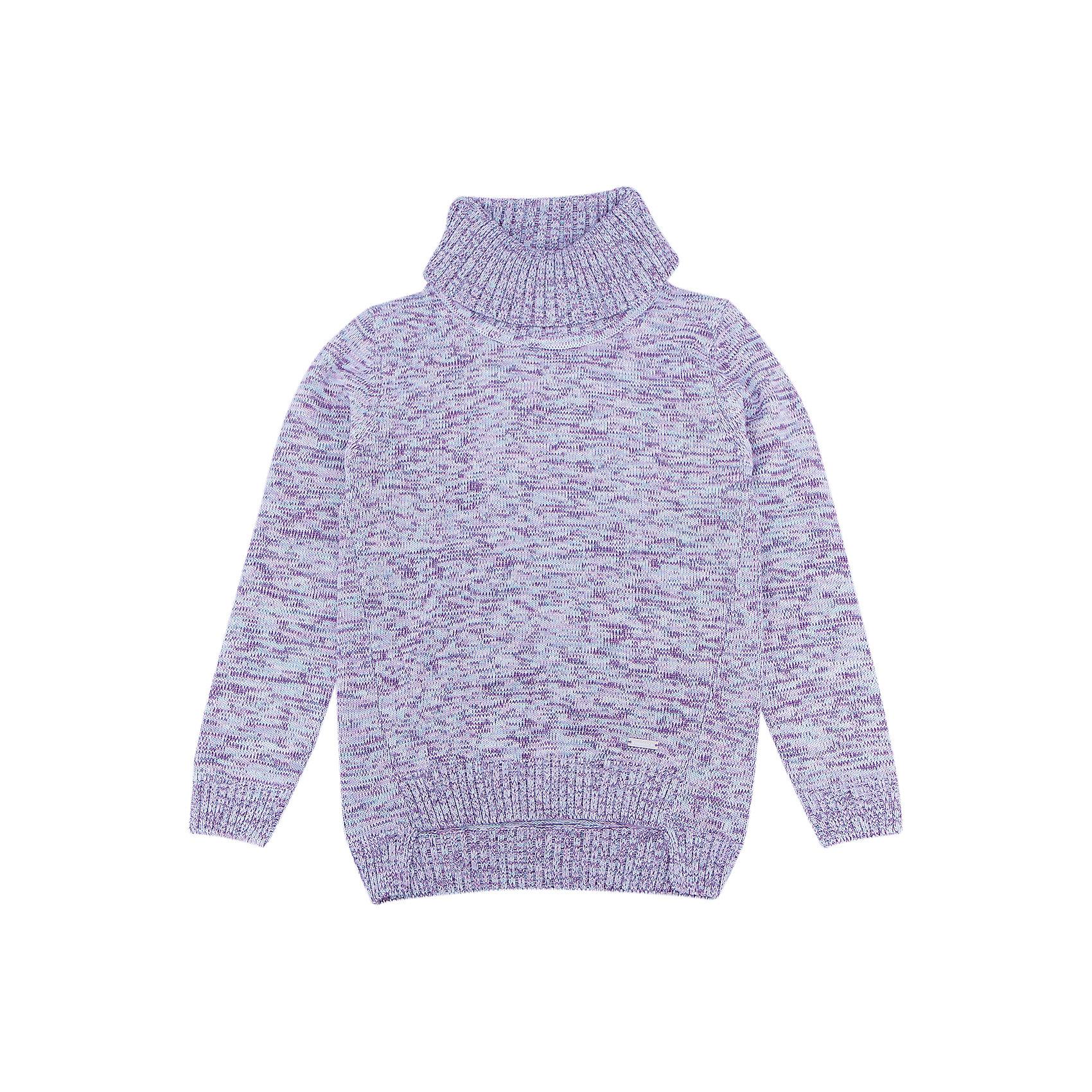 Свитер для девочки LuminosoХарактеристики товара:<br><br>- цвет: разноцветный;<br>- материал: 60% хлопок, 40% акрил;<br>- качественная пряжа;<br>- резинка по низу и на рукавах;<br>- длинный рукав;<br>- спинка длиннее;<br>- высокий объемный ворот.<br><br>Стильная одежда от бренда Luminoso (Люминосо), созданная при участии итальянских дизайнеров, учитывает потребности подростков и последние веяния моды. Она удобная и модная.<br>Этот вязаный свитер идеален для прохладной погоды. Он хорошо сидит на ребенке, обеспечивает комфорт и отлично сочетается с одежной разных стилей. Модель отличается высоким качеством пряжи и продуманным дизайном.<br><br>Свитер для девочки от бренда Luminoso (Люминосо) можно купить в нашем интернет-магазине.<br><br>Ширина мм: 190<br>Глубина мм: 74<br>Высота мм: 229<br>Вес г: 236<br>Цвет: фиолетовый<br>Возраст от месяцев: 156<br>Возраст до месяцев: 168<br>Пол: Женский<br>Возраст: Детский<br>Размер: 164,134,140,146,152,158<br>SKU: 4929472
