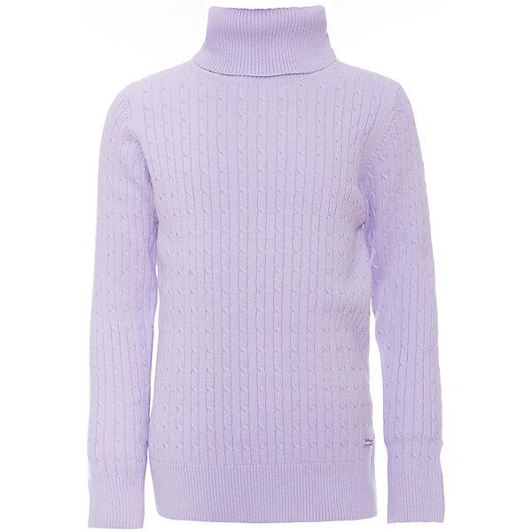 Водолазка для девочки LuminosoВодолазки<br>Характеристики товара:<br><br>- цвет: лиловый;<br>- материал: 95% хлопок,5% эластан;<br>- качественная пряжа;<br>- резинка по низу и на рукавах;<br>- длинный рукав;<br>- вязаный узор;<br>- высокий ворот.<br><br>Стильная одежда от бренда Luminoso (Люминосо), созданная при участии итальянских дизайнеров, учитывает потребности подростков и последние веяния моды. Она удобная и модная.<br>Эта тонкая вязаная водолазка идеальна для прохладной погоды. Она хорошо сидит на ребенке, обеспечивает комфорт и отлично сочетается с одежной разных стилей. Модель отличается высоким качеством пряжи и продуманным дизайном.<br><br>Водолазку для девочки от бренда Luminoso (Люминосо) можно купить в нашем интернет-магазине.<br><br>Ширина мм: 230<br>Глубина мм: 40<br>Высота мм: 220<br>Вес г: 250<br>Цвет: лиловый<br>Возраст от месяцев: 156<br>Возраст до месяцев: 168<br>Пол: Женский<br>Возраст: Детский<br>Размер: 164,134,158,152,146,140<br>SKU: 4929479