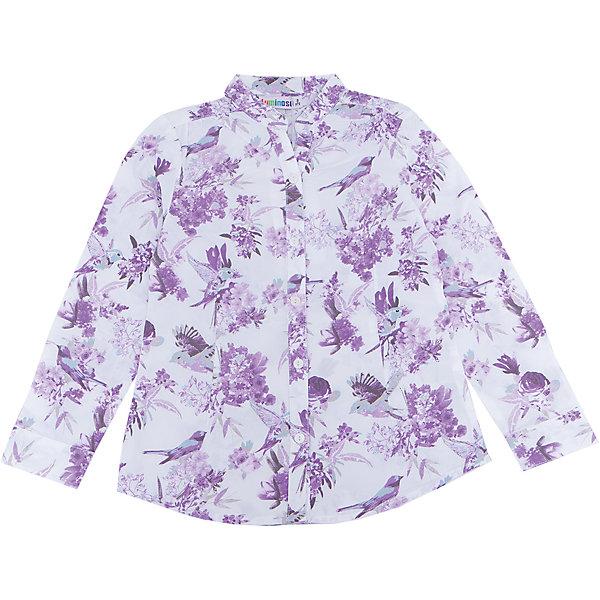 Блузка для девочки LuminosoБлузки и рубашки<br>Характеристики товара:<br><br>- цвет: белый;<br>- материал: 100% хлопок;<br>- декорирована принтом;<br>- длинный рукав;<br>- застежки кнопки.<br><br>Стильная одежда от бренда Luminoso (Люминосо), созданная при участии итальянских дизайнеров, учитывает потребности подростков и последние веяния моды. Она удобная и модная.<br>Эта хлопковая блузка выглядит стильно и нарядно, но при этом подходит для ежедневного ношения. Он хорошо сидит на ребенке, обеспечивает комфорт и отлично сочетается с одежной разных стилей. Модель отличается высоким качеством материала и продуманным дизайном. Натуральный хлопок в составе изделия делает его дышащим, приятным на ощупь и гипоаллергеным.<br><br>Блузку для девочки от бренда Luminoso (Люминосо) можно купить в нашем интернет-магазине.<br>Ширина мм: 186; Глубина мм: 87; Высота мм: 198; Вес г: 197; Цвет: белый; Возраст от месяцев: 108; Возраст до месяцев: 120; Пол: Женский; Возраст: Детский; Размер: 140,134,164,158,152,146; SKU: 4929542;