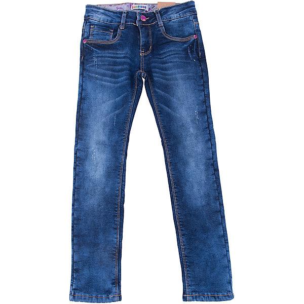 Джинсы для девочки LuminosoДжинсовая одежда<br>Характеристики товара:<br><br>- цвет: синий;<br>- материал: 98% хлопок, 2% эластан, подкладка - 100% полиэстер;<br>- подкладка из флиса;<br>- застежка: пуговица и молния;<br>- пояс регулируется внутренней резинкой на пуговицах;<br>- эффект потертостей.<br><br>Стильная одежда от бренда Luminoso (Люминосо), созданная при участии итальянских дизайнеров, учитывает потребности подростков и последние веяния моды. Она удобная и модная.<br>Эти классические утепленные джинсы выглядят стильно, но при этом подходят для ежедневного ношения. Они хорошо сидят на ребенке, обеспечивают комфорт и отлично сочетаются с одежной разных стилей. Модель отличается высоким качеством материала и продуманным дизайном. Натуральный хлопок в составе изделия делает его дышащим, приятным на ощупь и гипоаллергеным.<br><br>Джинсы для девочки от бренда Luminoso (Люминосо) можно купить в нашем интернет-магазине.<br><br>Ширина мм: 215<br>Глубина мм: 88<br>Высота мм: 191<br>Вес г: 336<br>Цвет: синий<br>Возраст от месяцев: 144<br>Возраст до месяцев: 156<br>Пол: Женский<br>Возраст: Детский<br>Размер: 152,146,140,158,134,164<br>SKU: 4929556