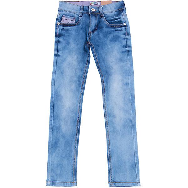 Джинсы для девочки LuminosoДжинсовая одежда<br>Характеристики товара:<br><br>- цвет: синий;<br>- материал: 98% хлопок, 2% эластан;<br>- шлевки для ремня;<br>- застежка: пуговица и молния;<br>- пояс регулируется внутренней резинкой на пуговицах;<br>- эффект потертостей.<br><br>Стильная одежда от бренда Luminoso (Люминосо), созданная при участии итальянских дизайнеров, учитывает потребности подростков и последние веяния моды. Она удобная и модная.<br>Эти джинсы выглядят действительно стильно, но при этом подходят для ежедневного ношения. Они хорошо сидят на ребенке, обеспечивают комфорт и отлично сочетаются с одежной разных стилей. Модель отличается высоким качеством материала и продуманным дизайном. Натуральный хлопок в составе изделия делает его дышащим, приятным на ощупь и гипоаллергеным.<br><br>Джинсы для девочки от бренда Luminoso (Люминосо) можно купить в нашем интернет-магазине.<br>Ширина мм: 215; Глубина мм: 88; Высота мм: 191; Вес г: 336; Цвет: синий; Возраст от месяцев: 132; Возраст до месяцев: 144; Пол: Женский; Возраст: Детский; Размер: 152,158,146,140,134,164; SKU: 4929563;