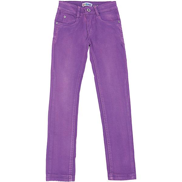 Брюки для девочки LuminosoБрюки<br>Характеристики товара:<br><br>- цвет: фиолетовый;<br>- материал: 98% хлопок, 2% эластан;<br>- эластичный твил;<br>- застежка: пуговица и молния;<br>- пояс регулируется внутренней резинкой на пуговицах;<br>- шлевки для ремня.<br><br>Стильная одежда от бренда Luminoso (Люминосо), созданная при участии итальянских дизайнеров, учитывает потребности подростков и последние веяния моды. Она удобная и модная.<br>Эти брюки выглядят стильно и нарядно, но при этом подходят для ежедневного ношения. Они хорошо сидят на ребенке, обеспечивают комфорт и отлично сочетаются с одежной разных стилей. Модель отличается высоким качеством материала и продуманным дизайном. Натуральный хлопок в составе изделия делает его дышащим, приятным на ощупь и гипоаллергеным.<br><br>Брюки для девочки от бренда Luminoso (Люминосо) можно купить в нашем интернет-магазине.<br>Ширина мм: 215; Глубина мм: 88; Высота мм: 191; Вес г: 336; Цвет: лиловый; Возраст от месяцев: 108; Возраст до месяцев: 120; Пол: Женский; Возраст: Детский; Размер: 140,164,134,158,152,146; SKU: 4929570;