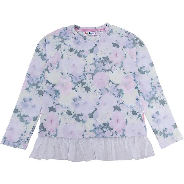 Толстовка для девочки LuminosoТолстовки<br>Характеристики товара:<br><br>- цвет: розовый;<br>- материал: 95% хлопок, 5% эластан;<br>- декорирована принтом и кружевом;<br>- длинный рукав;<br>- округлый горловой вырез.<br><br>Стильная одежда от бренда Luminoso (Люминосо), созданная при участии итальянских дизайнеров, учитывает потребности подростков и последние веяния моды. Она удобная и модная.<br>Эта стильная толстовка идеальна для прохладной погоды. Он хорошо сидит на ребенке, обеспечивает комфорт и отлично сочетается с одежной разных стилей. Модель отличается высоким качеством материала и продуманным дизайном.<br><br>Толстовку для девочки от бренда Luminoso (Люминосо) можно купить в нашем интернет-магазине.<br>Ширина мм: 190; Глубина мм: 74; Высота мм: 229; Вес г: 236; Цвет: розовый; Возраст от месяцев: 108; Возраст до месяцев: 120; Пол: Женский; Возраст: Детский; Размер: 140,152,164,158,146,134; SKU: 4929591;