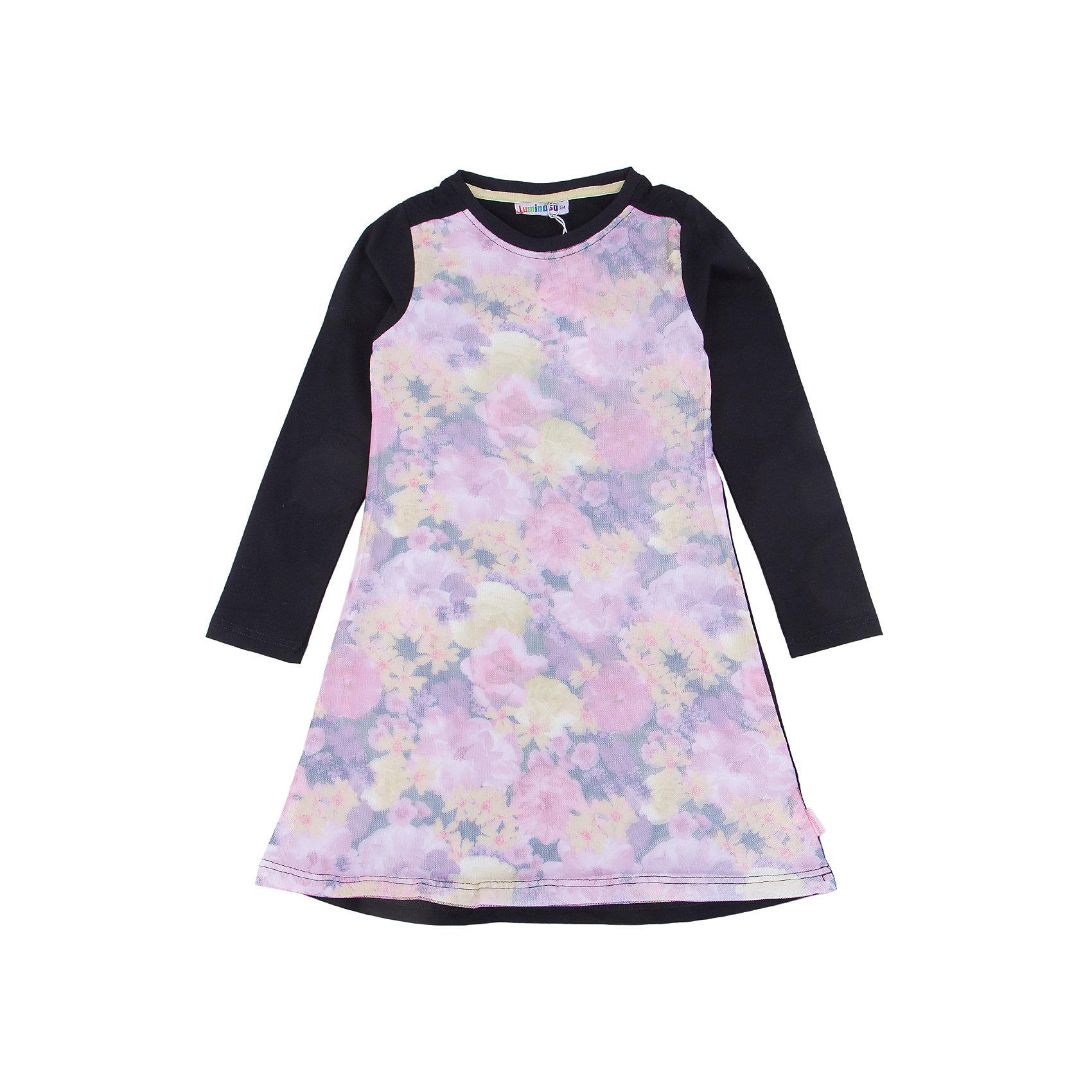 Платье для девочки LuminosoПлатья и сарафаны<br>Характеристики товара:<br><br>- цвет: бежевый;<br>- материал: 95% хлопок, 5% эластан;<br>- декорировано принтом;<br>- длинный рукав;<br>- эффект 3D рисунка.<br><br>Стильная одежда от бренда Luminoso (Люминосо), созданная при участии итальянских дизайнеров, учитывает потребности подростков и последние веяния моды. Она удобная и модная.<br>Это платье с длинным рукавом выглядит стильно и нарядно, но при этом подходит для ежедневного ношения. Оно хорошо сидит на ребенке, обеспечивает комфорт и отлично сочетается с одежной разных стилей. Модель отличается высоким качеством материала и продуманным дизайном. Натуральный хлопок в составе изделия делает его дышащим, приятным на ощупь и гипоаллергеным.<br><br>Платье для девочки от бренда Luminoso (Люминосо) можно купить в нашем интернет-магазине.<br><br>Ширина мм: 236<br>Глубина мм: 16<br>Высота мм: 184<br>Вес г: 177<br>Цвет: розовый<br>Возраст от месяцев: 156<br>Возраст до месяцев: 168<br>Пол: Женский<br>Возраст: Детский<br>Размер: 164,134,140,146,152,158<br>SKU: 4929633