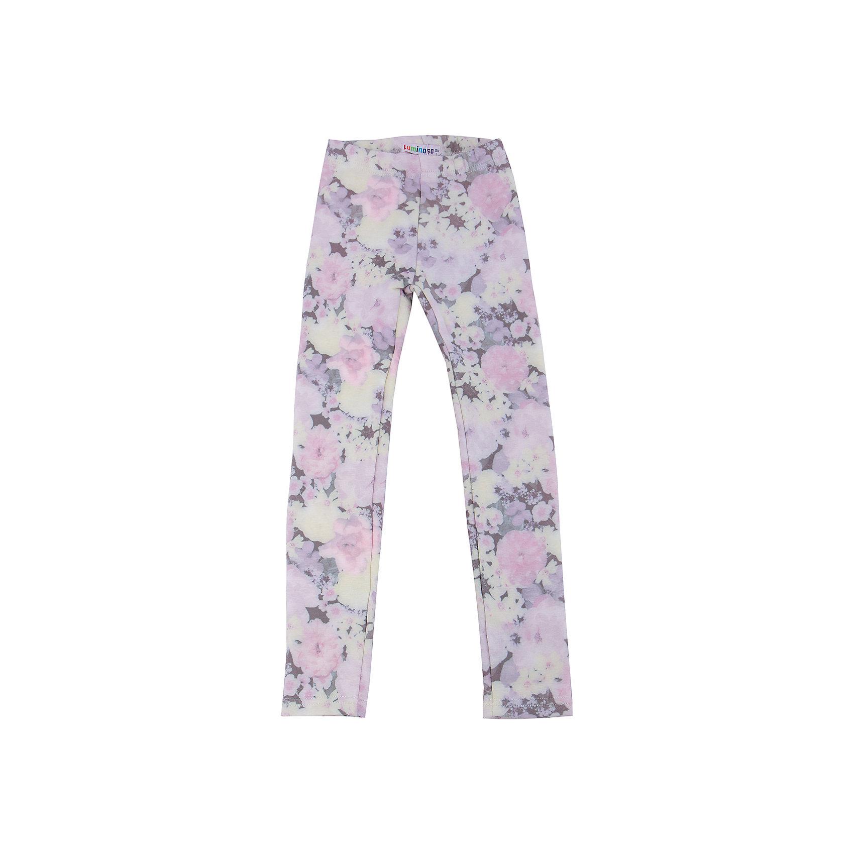 Леггинсы для девочки LuminosoХарактеристики товара:<br><br>- цвет: разноцветный;<br>- материал: 80% хлопок, 20% полиэстер;<br>- трикотаж;<br>- мягкая резинка в поясе.<br><br>Стильная одежда от бренда Luminoso (Люминосо), созданная при участии итальянских дизайнеров, учитывает потребности подростков и последние веяния моды. Она удобная и модная.<br>Эти стильные джеггинсы подходят для ежедневного ношения. Они хорошо сидят на ребенке, обеспечивают комфорт и отлично сочетаются с одежной разных стилей. Модель отличается высоким качеством материала и продуманным дизайном. Натуральный хлопок в составе изделия делает его дышащим, приятным на ощупь и гипоаллергеным.<br><br>Брюки для девочки от бренда Luminoso (Люминосо) можно купить в нашем интернет-магазине.<br><br>Ширина мм: 123<br>Глубина мм: 10<br>Высота мм: 149<br>Вес г: 209<br>Цвет: розовый<br>Возраст от месяцев: 156<br>Возраст до месяцев: 168<br>Пол: Женский<br>Возраст: Детский<br>Размер: 164,158,152,146,140,134<br>SKU: 4929647