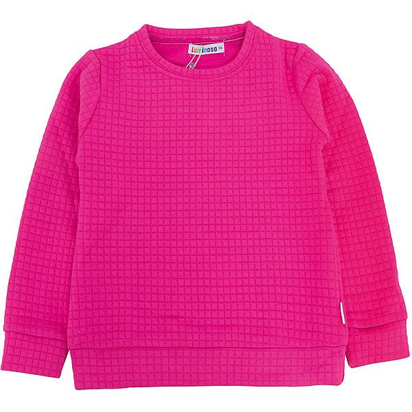 Толстовка для девочки LuminosoТолстовки<br>Характеристики товара:<br><br>- цвет: розовый;<br>- материал: 60% хлопок, 40% акрил;<br>- плотный фактурный трикотаж;<br>- длинный рукав;<br>- округлый горловой вырез.<br><br>Стильная одежда от бренда Luminoso (Люминосо), созданная при участии итальянских дизайнеров, учитывает потребности подростков и последние веяния моды. Она удобная и модная.<br>Эта стильная толстовка идеальна для прохладной погоды. Он хорошо сидит на ребенке, обеспечивает комфорт и отлично сочетается с одежной разных стилей. Модель отличается высоким качеством материала и продуманным дизайном.<br><br>Толстовку для девочки от бренда Luminoso (Люминосо) можно купить в нашем интернет-магазине.<br><br>Ширина мм: 190<br>Глубина мм: 74<br>Высота мм: 229<br>Вес г: 236<br>Цвет: розовый<br>Возраст от месяцев: 108<br>Возраст до месяцев: 120<br>Пол: Женский<br>Возраст: Детский<br>Размер: 140,146,152,158,164,134<br>SKU: 4929710