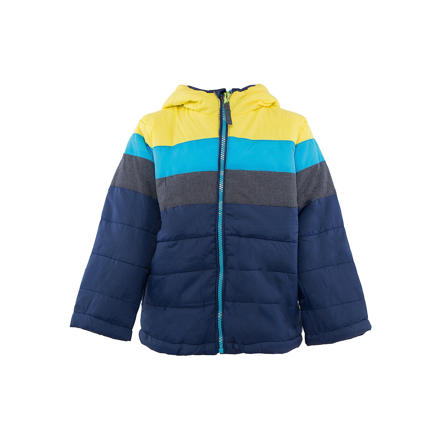 Куртка для мальчика Sweet BerryВерхняя одежда<br>Стильная утепленная куртка  торговой марки Sweet Berry прекрасно подойдет для мальчишек, изделие  выполнено в  яркой и модной расцветке. Данная модель предусматривает  капюшон и удобные прорезные карманы спереди.<br><br> Дополнительная информация:<br><br>- комплектация: куртка<br>- цвет: желтый<br>- состав:  верх: 100% нейлон, подкладка: 100% полиэстер, наполнитель: 100% полиэстер<br>- длина рукава: длинные<br>- вид застежки: молния<br>- тип карманов: прорезные<br>- длина изделия: по спинке: 42 см<br>- покрой: прямой<br>- утеплитель: синтепух<br>- материал подкладки: флис: 100 %<br>- фактура материала: гладкий<br>- уход за вещами: бережная стирка при t не более 40с<br>- рисунок: без рисунка<br>- плотность: утеплителя: 160 г/кв.м<br>- назначение: повседневная<br>- характеристика утеплителя: fill power: 450 куб. дюйм на унцию<br>- сезон: демисезон<br>- пол: мальчики<br><br>Куртка для мальчика  торговой марки Sweet Berry можно купить в нашем интернет-магазине.<br><br>Ширина мм: 356<br>Глубина мм: 10<br>Высота мм: 245<br>Вес г: 519<br>Цвет: желтый<br>Возраст от месяцев: 24<br>Возраст до месяцев: 36<br>Пол: Мужской<br>Возраст: Детский<br>Размер: 98,80,86,92<br>SKU: 4929752