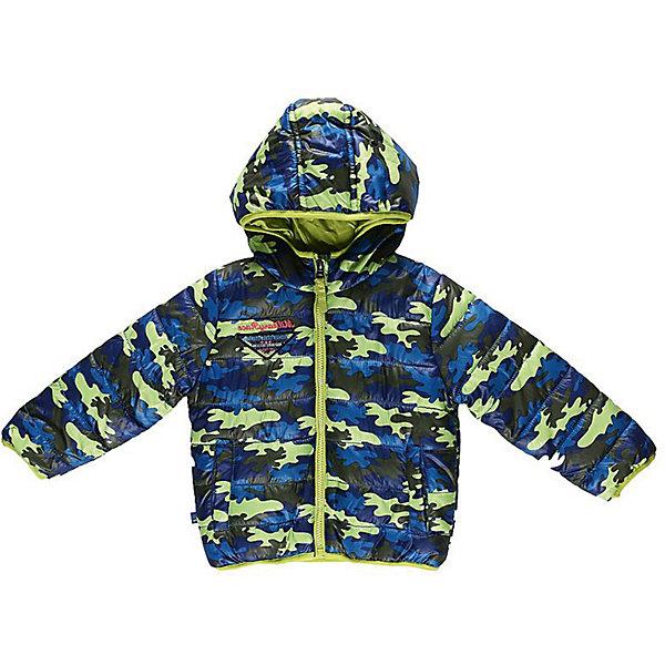 Куртка для мальчика Sweet BerryВерхняя одежда<br>Модная куртка для мальчиков, на тонком утеплителе, дополнена оригинальным шевроном. Швы проклеены. Куртка с капюшоном и небольшим воротником-стойкой застегивается на пластиковую застежку-молнию. Мягкая подкладка на воротнике и капюшоне обеспечивает дополнительный комфорт. Спереди куртка дополнена двумя  прорезными карманами на молнии. Оформлена куртка в стиле милитари.<br><br> Дополнительная информация:<br><br>- комплектация: куртка<br>- цвет: салатовый<br>- состав:  верх: 100% полиэстер, подкладка: 100% полиэстер, наполнитель: 100% полиэстер<br>- длина рукава: длинные<br>- вид застежки: молния<br>- тип карманов: прорезные<br>- покрой: прямой<br>- утеплитель: синтепух<br>- материал подкладки: флис: 100 %<br>- фактура материала: гладкий<br>- уход за вещами: бережная стирка при t не более 40с<br>- рисунок: без рисунка<br>- плотность: утеплителя: 160 г/кв.м<br>- назначение: повседневная<br>- характеристика утеплителя: fill power: 450 куб. дюйм на унцию <br>- сезон: демисезон<br>- пол: мальчики<br><br>Куртка для мальчика  торговой марки Sweet Berry можно купить в нашем интернет-магазине.<br>Ширина мм: 356; Глубина мм: 10; Высота мм: 245; Вес г: 519; Цвет: зеленый; Возраст от месяцев: 12; Возраст до месяцев: 15; Пол: Мужской; Возраст: Детский; Размер: 80,98,86,92; SKU: 4929867;