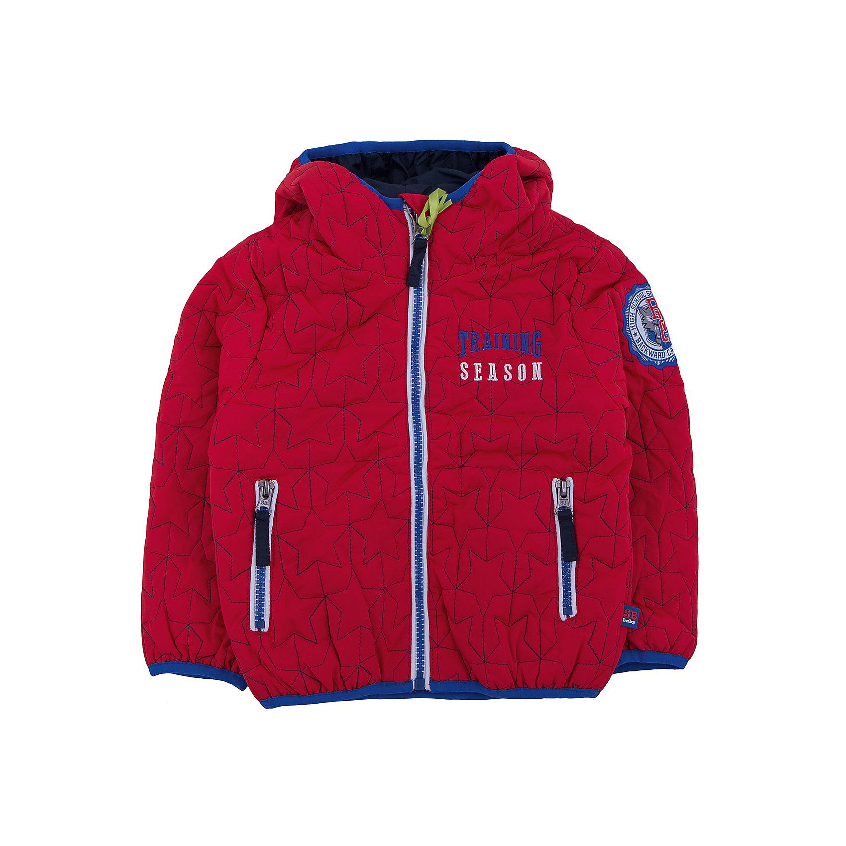 Куртка для мальчика Sweet BerryВерхняя одежда<br>Куртка красная для мальчика.<br><br>Температурный режим: до -5 градусов. Степень утепления – низкая. <br><br>* Температурный режим указан приблизительно — необходимо, прежде всего, ориентироваться на ощущения ребенка. Температурный режим работает в случае соблюдения правила многослойности – использования флисовой поддевы и термобелья.<br><br>Такая модель куртки для мальчика отличается модным дизайном. Удачный крой обеспечит ребенку комфорт и тепло. Флисовая подкладка делает вещь идеальной для прохладной погоды. Она плотно прилегает к телу там, где нужно, и отлично сидит по фигуре. Декорирована модель вышивкой на груди и модной нашивкой.<br>Одежда от бренда Sweet Berry - это простой и выгодный способ одеть ребенка удобно и стильно. Всё изделия тщательно проработаны: швы - прочные, материал - качественный, фурнитура - подобранная специально для детей. <br><br>Дополнительная информация:<br><br>цвет: красный;<br>капюшон;<br>материал: верх, подкладка, наполнитель - 100% полиэстер;<br>застежка: молния;<br>карманы на молнии.<br><br>Куртку для мальчика от бренда Sweet Berry можно купить в нашем интернет-магазине.<br><br>Ширина мм: 356<br>Глубина мм: 10<br>Высота мм: 245<br>Вес г: 519<br>Цвет: красный<br>Возраст от месяцев: 12<br>Возраст до месяцев: 18<br>Пол: Мужской<br>Возраст: Детский<br>Размер: 86,92,98,80<br>SKU: 4929922