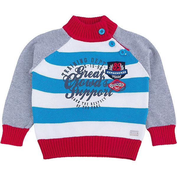 Свитер для мальчика Sweet BerryСвитера и кардиганы<br>Эта модель свитера для мальчика отличается модным дизайном с оригинальным принтом. Удачный крой обеспечит ребенку комфорт и тепло. Края изделия обработаны мягкой резинкой , горло - высокое, поэтому вещь плотно прилегает к телу там, где нужно, и отлично сидит по фигуре. Натуральный хлопок обеспечит коже возможность дышать и не вызовет аллергии.<br><br>Одежда от бренда Sweet Berry - это простой и выгодный способ одеть ребенка удобно и стильно. Всё изделия тщательно проработаны: швы - прочные, материал - качественный, фурнитура - подобранная специально для детей. <br><br>Дополнительная информация:<br><br>цвет: серый;<br>материал: 100% хлопок;<br>высокое горло;<br>декорирован принтом.<br><br>Свитер для мальчика от бренда Sweet Berry можно купить в нашем интернет-магазине.<br>Ширина мм: 190; Глубина мм: 74; Высота мм: 229; Вес г: 236; Цвет: серый; Возраст от месяцев: 12; Возраст до месяцев: 15; Пол: Мужской; Возраст: Детский; Размер: 80,98,92,86; SKU: 4929942;