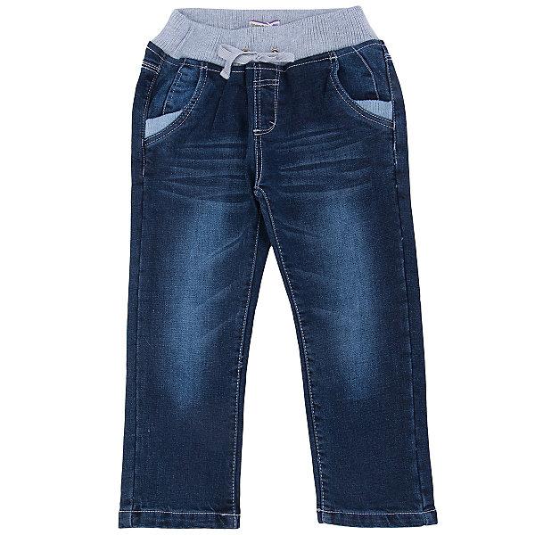 Джинсы для мальчика Sweet BerryДжинсы<br>Такая модель брюк для мальчика отличается мягким и приятным на ощупь материалом. Удачный крой обеспечит ребенку комфорт и тепло. Плотная ткань делает вещь идеальной для прохладной погоды. Она плотно прилегает к телу там, где нужно, и отлично сидит по фигуре. Брюки имеют резинку и шнурок на талии. <br>Одежда от бренда Sweet Berry - это простой и выгодный способ одеть ребенка удобно и стильно. Всё изделия тщательно проработаны: швы - прочные, материал - качественный, фурнитура - подобранная специально для детей. <br><br>Дополнительная информация:<br><br>цвет: синий;<br>резинка и шнурок на талии;<br>материал: верх - 100% хлопок, подкладка - 100% хлопок.<br><br>Брюки для мальчика от бренда Sweet Berry можно купить в нашем интернет-магазине.<br><br>Ширина мм: 215<br>Глубина мм: 88<br>Высота мм: 191<br>Вес г: 336<br>Цвет: синий<br>Возраст от месяцев: 24<br>Возраст до месяцев: 36<br>Пол: Мужской<br>Возраст: Детский<br>Размер: 98,104,110,116,122,128<br>SKU: 4930016