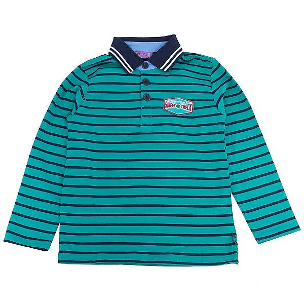 Футболка-поло с длинным рукавом для мальчика Sweet BerryФутболки с длинным рукавом<br>Такая футболка для мальчика отличается модным дизайном с ярким принтом. Удачный крой обеспечит ребенку комфорт и тепло. Воротник - поло, вещь плотно прилегает к телу там, где нужно, и отлично сидит по фигуре. Материал - приятный на ощупь и мягкий.<br>Одежда от бренда Sweet Berry - это простой и выгодный способ одеть ребенка удобно и стильно. Всё изделия тщательно проработаны: швы - прочные, материал - качественный, фурнитура - подобранная специально для детей. <br><br>Дополнительная информация:<br><br>цвет: зеленый;<br>материал: 95% хлопок, 5% эластан;<br>воротник - поло;<br>декорирован вышивкой.<br><br>Джемпер с длинным рукавом для мальчика от бренда Sweet Berry можно купить в нашем интернет-магазине.<br><br>Ширина мм: 190<br>Глубина мм: 74<br>Высота мм: 229<br>Вес г: 236<br>Цвет: зеленый<br>Возраст от месяцев: 84<br>Возраст до месяцев: 96<br>Пол: Мужской<br>Возраст: Детский<br>Размер: 128,116,110,104,98,122<br>SKU: 4930051