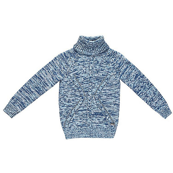 Свитер для мальчика Sweet BerryСвитера и кардиганы<br>Эта модель свитера для мальчика отличается модным дизайном с оригинальным узором. Удачный крой обеспечит ребенку комфорт и тепло. Края изделия обработаны мягкой резинкой , горло - высокое, поэтому вещь плотно прилегает к телу там, где нужно, и отлично сидит по фигуре. Натуральный хлопок в составе пряжи обеспечит коже возможность дышать и не вызовет аллергии.<br>Одежда от бренда Sweet Berry - это простой и выгодный способ одеть ребенка удобно и стильно. Всё изделия тщательно проработаны: швы - прочные, материал - качественный, фурнитура - подобранная специально для детей. <br><br>Дополнительная информация:<br><br>цвет: голубой;<br>материал: 60% хлопок, 40% акрил;<br>высокое горло;<br>декорирован узором косы.<br><br>Свитер для мальчика от бренда Sweet Berry можно купить в нашем интернет-магазине.<br><br>Ширина мм: 190<br>Глубина мм: 74<br>Высота мм: 229<br>Вес г: 236<br>Цвет: голубой<br>Возраст от месяцев: 84<br>Возраст до месяцев: 96<br>Пол: Мужской<br>Возраст: Детский<br>Размер: 128,104,98,122,116,110<br>SKU: 4930466