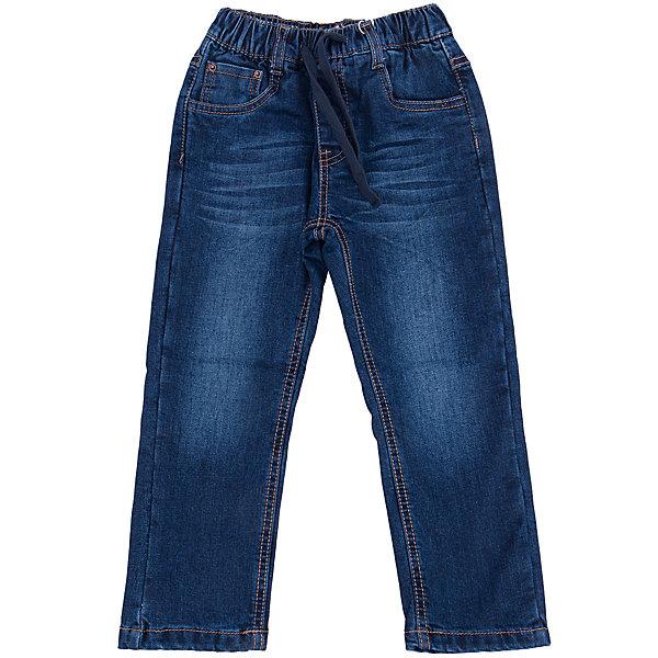 Джинсы для мальчика Sweet BerryДжинсы<br>Такая модель джинсов для мальчика отличается модным дизайном с контрастной прострочкой. Удачный крой обеспечит ребенку комфорт и тепло. Мягкая и теплая хлопковая подкладка делает вещь идеальной для прохладной погоды. Она плотно прилегает к телу там, где нужно, и отлично сидит по фигуре. Джинсы имеют удобный пояс на резинке. Натуральный хлопок обеспечит коже возможность дышать и не вызовет аллергии.<br>Одежда от бренда Sweet Berry - это простой и выгодный способ одеть ребенка удобно и стильно. Всё изделия тщательно проработаны: швы - прочные, материал - качественный, фурнитура - подобранная специально для детей. <br><br>Дополнительная информация:<br><br>цвет: синий;<br>имитация потертостей;<br>материал: 100% хлопок, подкладка - 100% хлопок;<br>внутри на поясе - резинка, шнурок.<br><br>Джинсы для мальчика от бренда Sweet Berry можно купить в нашем интернет-магазине.<br>Ширина мм: 215; Глубина мм: 88; Высота мм: 191; Вес г: 336; Цвет: синий; Возраст от месяцев: 36; Возраст до месяцев: 48; Пол: Мужской; Возраст: Детский; Размер: 104,98,128,122,116,110; SKU: 4930487;