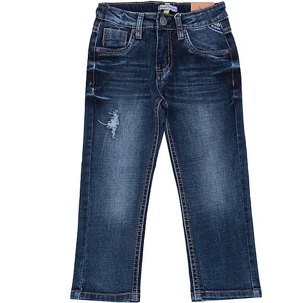 Джинсы для мальчика Sweet BerryДжинсы<br>Такая модель джинсов для мальчика отличается модным дизайном с контрастной прострочкой. Удачный крой обеспечит ребенку комфорт и тепло.Плотная ткань делает вещь идеальной для прохладной погоды. Она хорошо прилегает к телу там, где нужно, и отлично сидит по фигуре. Джинсы имеют регулировку размера на талии. Натуральный хлопок в составе ткани обеспечит коже возможность дышать и не вызовет аллергии.<br>Одежда от бренда Sweet Berry - это простой и выгодный способ одеть ребенка удобно и стильно. Всё изделия тщательно проработаны: швы - прочные, материал - качественный, фурнитура - подобранная специально для детей. <br><br>Дополнительная информация:<br><br>цвет: синий;<br>имитация потертостей;<br>материал: 98% хлопок, 2% эластан;<br>внутри на поясе - регулировка размера.<br><br>Джинсы для мальчика от бренда Sweet Berry можно купить в нашем интернет-магазине.<br>Ширина мм: 215; Глубина мм: 88; Высота мм: 191; Вес г: 336; Цвет: синий; Возраст от месяцев: 36; Возраст до месяцев: 48; Пол: Мужской; Возраст: Детский; Размер: 104,98,128,122,116,110; SKU: 4930494;