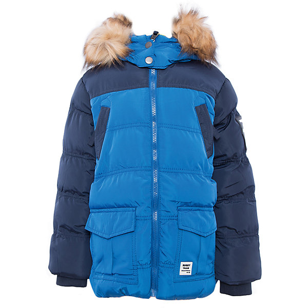 Куртка для мальчика Sweet BerryДемисезонные куртки<br>Куртка синяя для мальчика.<br><br>Температурный режим: до -5 градусов. Степень утепления – низкая. <br><br>* Температурный режим указан приблизительно — необходимо, прежде всего, ориентироваться на ощущения ребенка. Температурный режим работает в случае соблюдения правила многослойности – использования флисовой поддевы и термобелья.<br><br>Такая модель куртки для мальчика отличается модным дизайном. Удачный крой обеспечит ребенку комфорт и тепло. Флисовая подкладка делает вещь идеальной для прохладной погоды. Она плотно прилегает к телу там, где нужно, и отлично сидит по фигуре. Декорирована модель опушкой на капюшоне и удобными карманами.<br>Одежда от бренда Sweet Berry - это простой и выгодный способ одеть ребенка удобно и стильно. Всё изделия тщательно проработаны: швы - прочные, материал - качественный, фурнитура - подобранная специально для детей. <br><br>Дополнительная информация:<br><br>цвет: синий;<br>капюшон с опушкой;<br>материал: верх, подкладка, наполнитель - 100% полиэстер;<br>застежка: молния;<br>карманы на молнии.<br><br>Куртку для мальчика от бренда Sweet Berry можно купить в нашем интернет-магазине.<br>Ширина мм: 356; Глубина мм: 10; Высота мм: 245; Вес г: 519; Цвет: синий; Возраст от месяцев: 24; Возраст до месяцев: 36; Пол: Мужской; Возраст: Детский; Размер: 98,104,110,116,122,128; SKU: 4930550;