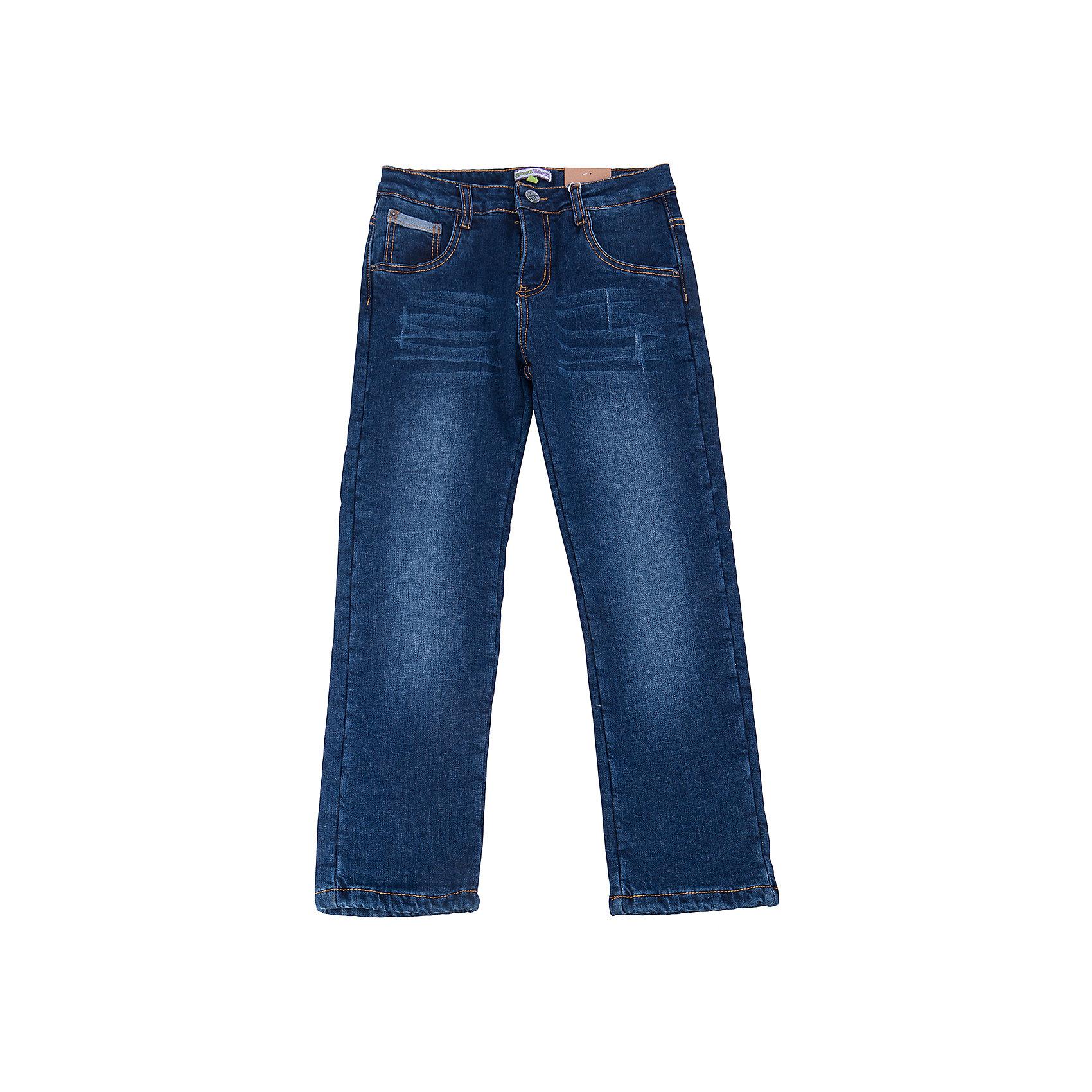 Джинсы для мальчика Sweet BerryДжинсовая одежда<br>Такая модель джинсов для мальчика отличается модным дизайном с контрастной прострочкой и потертостями. Удачный крой обеспечит ребенку комфорт и тепло. Мягкая и теплая подкладка делает вещь идеальной для прохладной погоды. Она плотно прилегает к телу там, где нужно, и отлично сидит по фигуре. Джинсы имеют удобный пояс с регулировкой внутри. Натуральный хлопок обеспечит коже возможность дышать и не вызовет аллергии.<br>Одежда от бренда Sweet Berry - это простой и выгодный способ одеть ребенка удобно и стильно. Всё изделия тщательно проработаны: швы - прочные, материал - качественный, фурнитура - подобранная специально для детей. <br><br>Дополнительная информация:<br><br>цвет: синий;<br>имитация потертостей;<br>материал: 100% хлопок, подкладка - 100% полиэстер;<br>пояс с регулировкой внутри.<br><br>Джинсы для мальчика от бренда Sweet Berry можно купить в нашем интернет-магазине.<br><br>Ширина мм: 215<br>Глубина мм: 88<br>Высота мм: 191<br>Вес г: 336<br>Цвет: синий<br>Возраст от месяцев: 84<br>Возраст до месяцев: 96<br>Пол: Мужской<br>Возраст: Детский<br>Размер: 128,122,98,104,110,116<br>SKU: 4930564