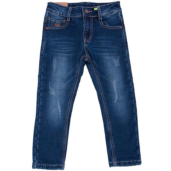 Джинсы для мальчика Sweet BerryДжинсы<br>Такая модель джинсов для мальчика отличается модным дизайном с контрастной прострочкой и потертостями. Удачный крой обеспечит ребенку комфорт и тепло. Мягкая и теплая подкладка делает вещь идеальной для прохладной погоды. Она плотно прилегает к телу там, где нужно, и отлично сидит по фигуре. Джинсы имеют удобный пояс с регулировкой внутри. Натуральный хлопок обеспечит коже возможность дышать и не вызовет аллергии.<br>Одежда от бренда Sweet Berry - это простой и выгодный способ одеть ребенка удобно и стильно. Всё изделия тщательно проработаны: швы - прочные, материал - качественный, фурнитура - подобранная специально для детей. <br><br>Дополнительная информация:<br><br>цвет: синий;<br>имитация потертостей;<br>материал: 98% хлопок, 2% эластан, подкладка - 100% полиэстер;<br>пояс с регулировкой внутри.<br><br>Джинсы для мальчика от бренда Sweet Berry можно купить в нашем интернет-магазине.<br>Ширина мм: 215; Глубина мм: 88; Высота мм: 191; Вес г: 336; Цвет: синий; Возраст от месяцев: 36; Возраст до месяцев: 48; Пол: Мужской; Возраст: Детский; Размер: 116,110,104,98,128,122; SKU: 4930585;