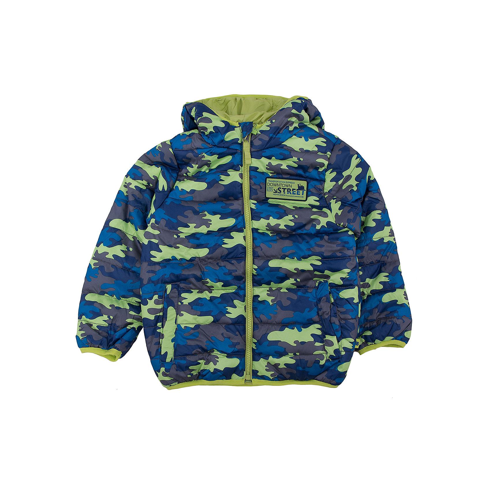 Куртка для мальчика Sweet BerryВерхняя одежда<br>Куртка для мальчика.<br><br>Температурный режим: до -5 градусов. Степень утепления – низкая. <br><br>* Температурный режим указан приблизительно — необходимо, прежде всего, ориентироваться на ощущения ребенка. Температурный режим работает в случае соблюдения правила многослойности – использования флисовой поддевы и термобелья.<br><br>Такая модель куртки для мальчика отличается модным дизайном. Удачный крой обеспечит ребенку комфорт и тепло. Флисовая подкладка делает вещь идеальной для прохладной погоды. Она плотно прилегает к телу там, где нужно, и отлично сидит по фигуре. Декорирована модель модной нашивкой и удобными карманами.<br>Одежда от бренда Sweet Berry - это простой и выгодный способ одеть ребенка удобно и стильно. Всё изделия тщательно проработаны: швы - прочные, материал - качественный, фурнитура - подобранная специально для детей. <br><br>Дополнительная информация:<br><br>цвет: зеленый, милитари;<br>капюшон;<br>материал: верх, подкладка, наполнитель - 100% полиэстер;<br>застежка: молния;<br>карманы.<br><br>Куртку для мальчика от бренда Sweet Berry можно купить в нашем интернет-магазине.<br><br>Ширина мм: 356<br>Глубина мм: 10<br>Высота мм: 245<br>Вес г: 519<br>Цвет: зеленый<br>Возраст от месяцев: 60<br>Возраст до месяцев: 72<br>Пол: Мужской<br>Возраст: Детский<br>Размер: 116,122,128,98,104,110<br>SKU: 4930662
