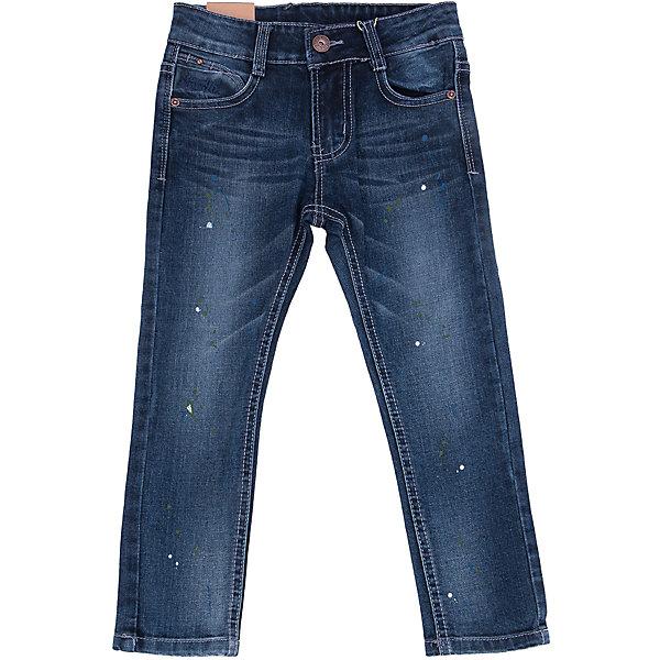 Джинсы для мальчика Sweet BerryДжинсовая одежда<br>Такая модель джинсов для мальчика отличается модным дизайном с контрастной прострочкой и потертостями. Удачный крой обеспечит ребенку комфорт и тепло. Джинсы плотно прилегают к телу там, где нужно, и отлично сидят по фигуре. Они имеют удобный пояс с регулировкой внутри и карманы. Натуральный хлопок в составе ткани обеспечит коже возможность дышать и не вызовет аллергии.<br>Одежда от бренда Sweet Berry - это простой и выгодный способ одеть ребенка удобно и стильно. Всё изделия тщательно проработаны: швы - прочные, материал - качественный, фурнитура - подобранная специально для детей. <br><br>Дополнительная информация:<br><br>цвет: синий;<br>имитация потертостей;<br>материал: 98% хлопок, 2% эластан;<br>пояс с регулировкой внутри.<br><br>Джинсы для мальчика от бренда Sweet Berry можно купить в нашем интернет-магазине.<br><br>Ширина мм: 215<br>Глубина мм: 88<br>Высота мм: 191<br>Вес г: 336<br>Цвет: синий<br>Возраст от месяцев: 36<br>Возраст до месяцев: 48<br>Пол: Мужской<br>Возраст: Детский<br>Размер: 104,98,128,122,116,110<br>SKU: 4930732