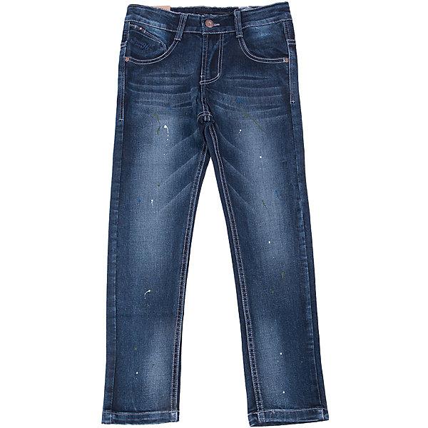 Джинсы для мальчика LuminosoДжинсы<br>Характеристики товара:<br><br>- цвет: синий;<br>- материал: 98% хлопок, 2% эластан;<br>- застежка: пуговица и молния;<br>- пояс регулируется внутренней резинкой на пуговицах;<br>- эффект потертостей.<br><br>Стильная одежда от бренда Luminoso (Люминосо), созданная при участии итальянских дизайнеров, учитывает потребности подростков и последние веяния моды. Она удобная и модная.<br>Эти джинсы выглядят стильно, но при этом подходят для ежедневного ношения. Они хорошо сидят на ребенке, обеспечивают комфорт и отлично сочетаются с одежной разных стилей. Модель отличается высоким качеством материала и продуманным дизайном. Натуральный хлопок в составе изделия делает его дышащим, приятным на ощупь и гипоаллергеным.<br><br>Джинсы для мальчика от бренда Luminoso (Люминосо) можно купить в нашем интернет-магазине.<br>Ширина мм: 215; Глубина мм: 88; Высота мм: 191; Вес г: 336; Цвет: синий; Возраст от месяцев: 144; Возраст до месяцев: 156; Пол: Мужской; Возраст: Детский; Размер: 158,134,164,152,146,140; SKU: 4930809;