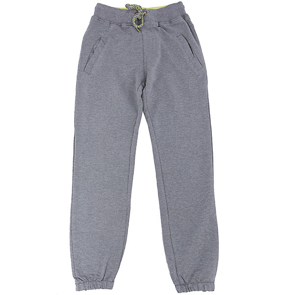 Брюки для мальчика LuminosoСпортивная форма<br>Характеристики товара:<br><br>- цвет: серый;<br>- материал: 95% хлопок 5% эластан;<br>- трикотаж;<br>- мягкая резинка и шнурок в поясе.<br><br>Стильная одежда от бренда Luminoso (Люминосо), созданная при участии итальянских дизайнеров, учитывает потребности подростков и последние веяния моды. Она удобная и модная.<br>Эти стильные спортивные брюки отлично впишутся в гардероб мальчика. Они хорошо сидят на ребенке, обеспечивают комфорт и отлично сочетаются с одежной разных стилей. Модель отличается высоким качеством материала и продуманным дизайном. Натуральный хлопок в составе изделия делает его дышащим, приятным на ощупь и гипоаллергеным.<br><br>Брюки для мальчика от бренда Luminoso (Люминосо) можно купить в нашем интернет-магазине.<br><br>Ширина мм: 215<br>Глубина мм: 88<br>Высота мм: 191<br>Вес г: 336<br>Цвет: серый<br>Возраст от месяцев: 96<br>Возраст до месяцев: 108<br>Пол: Мужской<br>Возраст: Детский<br>Размер: 134,164,158,152,146,140<br>SKU: 4930844
