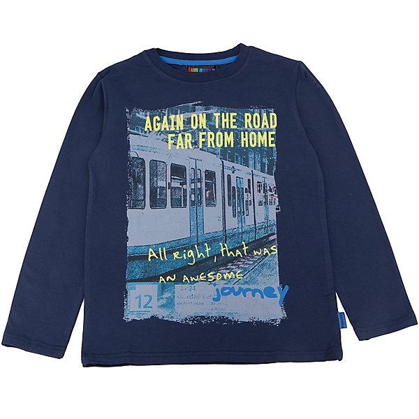 Футболка с длинным рукавом для мальчика LuminosoФутболки с длинным рукавом<br>Характеристики товара:<br><br>- цвет: синий;<br>- материал: 95% хлопок, 5% эластан;<br>- декорирована принтом;<br>- длинный рукав;<br>- округлый горловой вырез.<br><br>Стильная одежда от бренда Luminoso (Люминосо), созданная при участии итальянских дизайнеров, учитывает потребности подростков и последние веяния моды. Она удобная и модная.<br>Эта футболка с длинным рукавом выглядит стильно и нарядно, но при этом подходит для ежедневного ношения. Он хорошо сидит на ребенке, обеспечивает комфорт и отлично сочетается с одежной разных стилей. Модель отличается высоким качеством материала и продуманным дизайном. Натуральный хлопок в составе изделия делает его дышащим, приятным на ощупь и гипоаллергеным.<br><br>Футболку с длинным рукавом для мальчика от бренда Luminoso (Люминосо) можно купить в нашем интернет-магазине.<br>Ширина мм: 230; Глубина мм: 40; Высота мм: 220; Вес г: 250; Цвет: синий; Возраст от месяцев: 144; Возраст до месяцев: 156; Пол: Мужской; Возраст: Детский; Размер: 146,140,134,164,152,158; SKU: 4930886;
