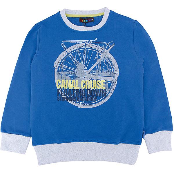 Толстовка для мальчика LuminosoТолстовки<br>Характеристики товара:<br><br>- цвет: синий;<br>- материал: 95% хлопок, 5% эластан;<br>- манжеты;<br>- длинный рукав;<br>- принт.<br><br>Стильная одежда от бренда Luminoso (Люминосо), созданная при участии итальянских дизайнеров, учитывает потребности подростков и последние веяния моды. Она удобная и модная.<br>Эта стильная толстовка идеальна для прохладной погоды. Он хорошо сидит на ребенке, обеспечивает комфорт и отлично сочетается с одежной разных стилей. Модель отличается высоким качеством материала и продуманным дизайном.<br><br>Толстовку для мальчика от бренда Luminoso (Люминосо) можно купить в нашем интернет-магазине.<br><br>Ширина мм: 190<br>Глубина мм: 74<br>Высота мм: 229<br>Вес г: 236<br>Цвет: синий<br>Возраст от месяцев: 96<br>Возраст до месяцев: 108<br>Пол: Мужской<br>Возраст: Детский<br>Размер: 134,164,158,152,146,140<br>SKU: 4930893