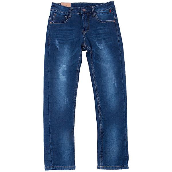 Джинсы для мальчика LuminosoДжинсовая одежда<br>Характеристики товара:<br><br>- цвет: синий;<br>- материал: 98% хлопок, 2% эластан, подкладка - 100% полиэстер;<br>- застежка: пуговица и молния;<br>- пояс регулируется внутренней резинкой на пуговицах;<br>- эффект потертостей.<br><br>Стильная одежда от бренда Luminoso (Люминосо), созданная при участии итальянских дизайнеров, учитывает потребности подростков и последние веяния моды. Она удобная и модная.<br>Эти джинсы выглядят стильно, но при этом подходят для ежедневного ношения. Они хорошо сидят на ребенке, обеспечивают комфорт и отлично сочетаются с одежной разных стилей. Модель отличается высоким качеством материала и продуманным дизайном. Натуральный хлопок в составе изделия делает его дышащим, приятным на ощупь и гипоаллергеным.<br><br>Джинсы для мальчика от бренда Luminoso (Люминосо) можно купить в нашем интернет-магазине.<br><br>Ширина мм: 215<br>Глубина мм: 88<br>Высота мм: 191<br>Вес г: 336<br>Цвет: синий<br>Возраст от месяцев: 156<br>Возраст до месяцев: 168<br>Пол: Мужской<br>Возраст: Детский<br>Размер: 164,134,158,152,146,140<br>SKU: 4930914