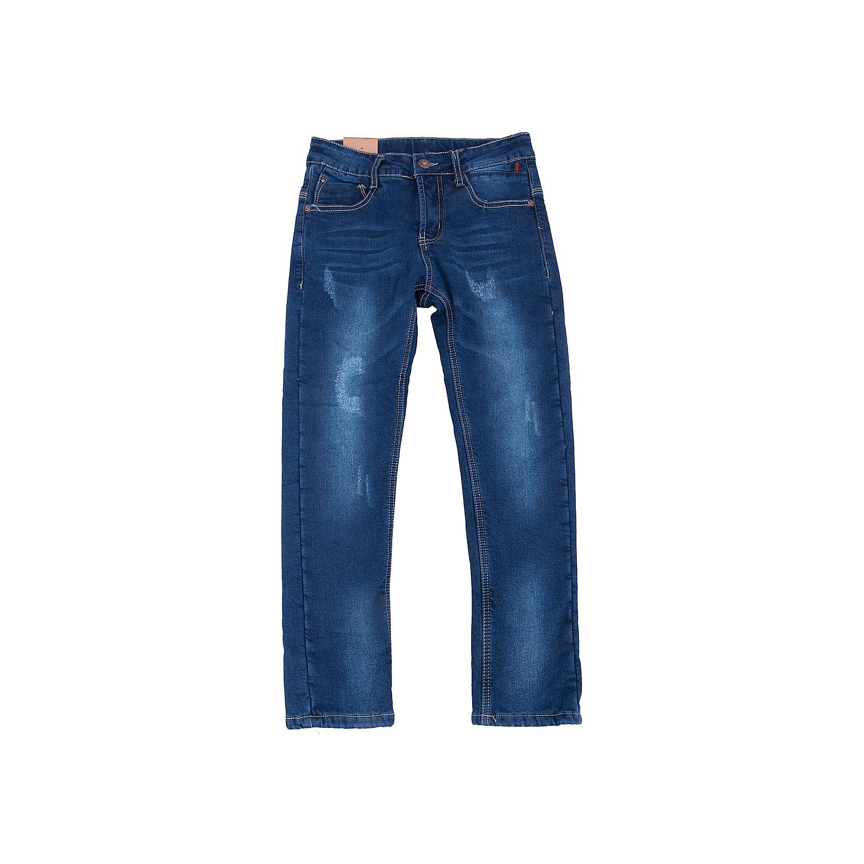 Джинсы для мальчика LuminosoДжинсы для мальчика от популярной марки Luminoso.<br>Удобные джинсы на каждый день.  Четыре функциональных кармана, пояс регулируется внутренней резинкой.<br>Состав:<br>Верх:98% хлопок,  2% эластан  Подкладка: 100% полиэстер<br><br>Ширина мм: 215<br>Глубина мм: 88<br>Высота мм: 191<br>Вес г: 336<br>Цвет: синий<br>Возраст от месяцев: 156<br>Возраст до месяцев: 168<br>Пол: Мужской<br>Возраст: Детский<br>Размер: 164,134,140,146,152,158<br>SKU: 4930914