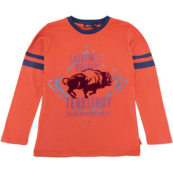 Футболка с длинным рукавом для мальчика LuminosoФутболки с длинным рукавом<br>Характеристики товара:<br><br>- цвет: оранжевый;<br>- материал: 95% хлопок, 5% эластан;<br>- округлый горловой вырез;<br>- длинный рукав;<br>- принт.<br><br>Стильная одежда от бренда Luminoso (Люминосо), созданная при участии итальянских дизайнеров, учитывает потребности подростков и последние веяния моды. Она удобная и модная.<br>Эта стильная футболка с длинным рукавом идеальна для прохладной погоды. Он хорошо сидит на ребенке, обеспечивает комфорт и отлично сочетается с одежной разных стилей. Модель отличается высоким качеством материала и продуманным дизайном.<br><br>Футболку с длинным рукавом для мальчика от бренда Luminoso (Люминосо) можно купить в нашем интернет-магазине.<br><br>Ширина мм: 230<br>Глубина мм: 40<br>Высота мм: 220<br>Вес г: 250<br>Цвет: коричневый<br>Возраст от месяцев: 96<br>Возраст до месяцев: 108<br>Пол: Мужской<br>Возраст: Детский<br>Размер: 134,164,158,152,146,140<br>SKU: 4930942
