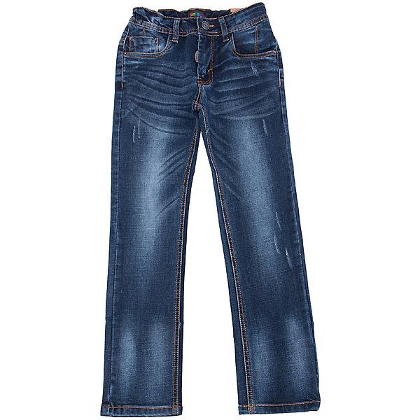 Джинсы для мальчика LuminosoДжинсовая одежда<br>Характеристики товара:<br><br>- цвет: синий;<br>- материал: 98% хлопок, 2% эластан;<br>- застежка: пуговица и молния;<br>- пояс регулируется внутренней резинкой на пуговицах;<br>- эффект потертостей.<br><br>Стильная одежда от бренда Luminoso (Люминосо), созданная при участии итальянских дизайнеров, учитывает потребности подростков и последние веяния моды. Она удобная и модная.<br>Эти джинсы выглядят стильно, но при этом подходят для ежедневного ношения. Они хорошо сидят на ребенке, обеспечивают комфорт и отлично сочетаются с одежной разных стилей. Модель отличается высоким качеством материала и продуманным дизайном. Натуральный хлопок в составе изделия делает его дышащим, приятным на ощупь и гипоаллергеным.<br><br>Джинсы для мальчика от бренда Luminoso (Люминосо) можно купить в нашем интернет-магазине.<br><br>Ширина мм: 215<br>Глубина мм: 88<br>Высота мм: 191<br>Вес г: 336<br>Цвет: синий<br>Возраст от месяцев: 132<br>Возраст до месяцев: 144<br>Пол: Мужской<br>Возраст: Детский<br>Размер: 152,134,164,158,146,140<br>SKU: 4930970
