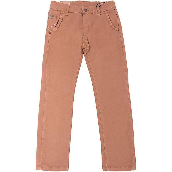 Брюки для мальчика LuminosoБрюки<br>Характеристики товара:<br><br>- цвет: коричневый;<br>- материал: 98% хлопок, 2% эластан;<br>- застежка: пуговица и молния;<br>- пояс регулируется внутренней резинкой на пуговицах;<br>- шлевки для ремня.<br><br>Стильная одежда от бренда Luminoso (Люминосо), созданная при участии итальянских дизайнеров, учитывает потребности подростков и последние веяния моды. Она удобная и модная.<br>Эти брюки выглядят стильно, но при этом подходят для ежедневного ношения. Они хорошо сидят на ребенке, обеспечивают комфорт и отлично сочетаются с одежной разных стилей. Модель отличается высоким качеством материала и продуманным дизайном. Натуральный хлопок в составе изделия делает его дышащим, приятным на ощупь и гипоаллергеным.<br><br>Брюки для мальчика от бренда Luminoso (Люминосо) можно купить в нашем интернет-магазине.<br><br>Ширина мм: 215<br>Глубина мм: 88<br>Высота мм: 191<br>Вес г: 336<br>Цвет: коричневый<br>Возраст от месяцев: 156<br>Возраст до месяцев: 168<br>Пол: Мужской<br>Возраст: Детский<br>Размер: 164,152,146,140,134,158<br>SKU: 4930977