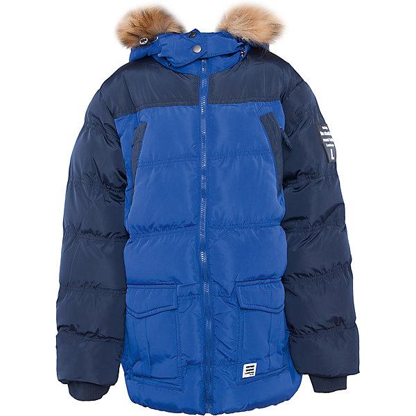 Куртка для мальчика LuminosoВерхняя одежда<br>Характеристики товара:<br><br>- цвет: синий;<br>- материал: верх - 100% полиэстер, подкладка - 100% полиэстер, наполнитель - 100% полиэстер;<br>- фурнитура: металл;<br>- застежка: молния;<br>- капюшон;<br>- флисовая подкладка;<br>- отделка искусственным мехом.<br><br>Стильная одежда от бренда Luminoso (Люминосо), созданная при участии итальянских дизайнеров, учитывает потребности подростков и последние веяния моды. Она удобная и модная.<br>Эта утепленная куртка - для прохладной и холодной погоды. Она хорошо сидит на ребенке, обеспечивает комфорт и отлично сочетается с одежной разных стилей. Модель отличается высоким качеством швов и продуманным дизайном.<br><br>Куртку для мальчика от бренда Luminoso (Люминосо) можно купить в нашем интернет-магазине.<br><br>Ширина мм: 356<br>Глубина мм: 10<br>Высота мм: 245<br>Вес г: 519<br>Цвет: синий<br>Возраст от месяцев: 120<br>Возраст до месяцев: 132<br>Пол: Мужской<br>Возраст: Детский<br>Размер: 146,158,152,140,134,164<br>SKU: 4930984