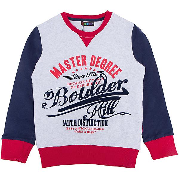 Толстовка для мальчика LuminosoТолстовки<br>Характеристики товара:<br><br>- цвет: разноцветный;<br>- материал: 95% хлопок, 5% эластан;<br>- манжеты;<br>- длинный рукав;<br>- принт.<br><br>Стильная одежда от бренда Luminoso (Люминосо), созданная при участии итальянских дизайнеров, учитывает потребности подростков и последние веяния моды. Она удобная и модная.<br>Эта стильная толстовка идеальна для прохладной погоды. Он хорошо сидит на ребенке, обеспечивает комфорт и отлично сочетается с одежной разных стилей. Модель отличается высоким качеством материала и продуманным дизайном.<br><br>Толстовку для мальчика от бренда Luminoso (Люминосо) можно купить в нашем интернет-магазине.<br><br>Ширина мм: 190<br>Глубина мм: 74<br>Высота мм: 229<br>Вес г: 236<br>Цвет: белый<br>Возраст от месяцев: 156<br>Возраст до месяцев: 168<br>Пол: Мужской<br>Возраст: Детский<br>Размер: 164,134,158,152,146,140<br>SKU: 4931033