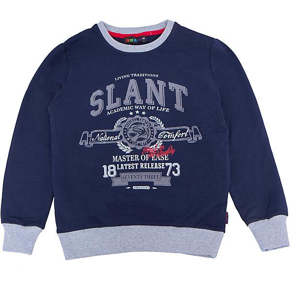Толстовка для мальчика LuminosoТолстовки<br>Характеристики товара:<br><br>- цвет: синий;<br>- материал: 95% хлопок, 5% эластан;<br>- манжеты;<br>- длинный рукав;<br>- принт.<br><br>Стильная одежда от бренда Luminoso (Люминосо), созданная при участии итальянских дизайнеров, учитывает потребности подростков и последние веяния моды. Она удобная и модная.<br>Эта стильная толстовка идеальна для прохладной погоды. Он хорошо сидит на ребенке, обеспечивает комфорт и отлично сочетается с одежной разных стилей. Модель отличается высоким качеством материала и продуманным дизайном.<br><br>Толстовку для мальчика от бренда Luminoso (Люминосо) можно купить в нашем интернет-магазине.<br>Ширина мм: 190; Глубина мм: 74; Высота мм: 229; Вес г: 236; Цвет: синий; Возраст от месяцев: 96; Возраст до месяцев: 108; Пол: Мужской; Возраст: Детский; Размер: 134,164,158,152,146,140; SKU: 4931040;