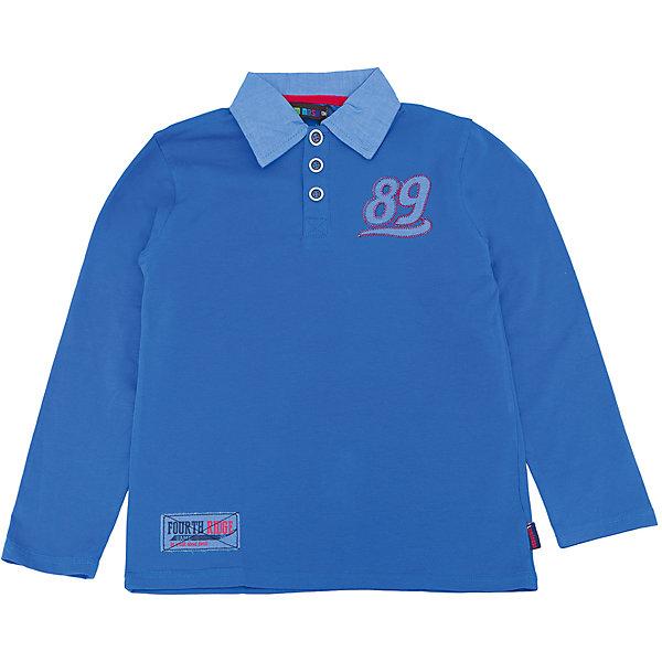 Футболка-поло с динным рукавом для мальчика LuminosoФутболки с длинным рукавом<br>Характеристики товара:<br><br>- цвет: синий;<br>- материал: 95% хлопок, 5% эластан;<br>- воротник-поло;<br>- длинный рукав;<br>- аппликация, нашивка.<br><br>Стильная одежда от бренда Luminoso (Люминосо), созданная при участии итальянских дизайнеров, учитывает потребности подростков и последние веяния моды. Она удобная и модная.<br>Эта стильная футболка с длинным рукавом идеальна для прохладной погоды. Он хорошо сидит на ребенке, обеспечивает комфорт и отлично сочетается с одежной разных стилей. Модель отличается высоким качеством материала и продуманным дизайном.<br><br>Футболку-поло с длинным рукавом для мальчика от бренда Luminoso (Люминосо) можно купить в нашем интернет-магазине.<br>Ширина мм: 190; Глубина мм: 74; Высота мм: 229; Вес г: 236; Цвет: синий; Возраст от месяцев: 144; Возраст до месяцев: 156; Пол: Мужской; Возраст: Детский; Размер: 158,134,164,152,146,140; SKU: 4931047;