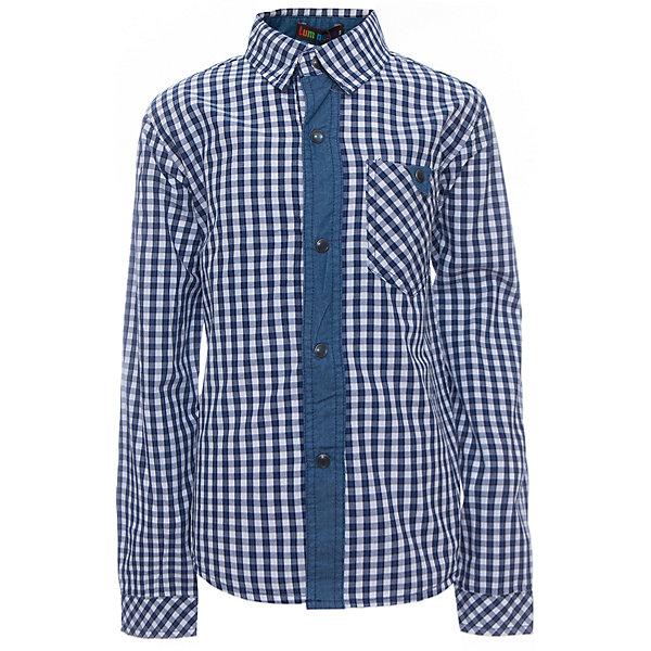 Рубашка для мальчика LuminosoБлузки и рубашки<br>Характеристики товара:<br><br>- цвет: синий;<br>- материал: 100% хлопок;<br>- карман;<br>- длинный рукав;<br>- декорирована отделкой из денима.<br><br>Стильная одежда от бренда Luminoso (Люминосо), созданная при участии итальянских дизайнеров, учитывает потребности подростков и последние веяния моды. Она удобная и модная.<br>Эта хлопковая рубашка выглядит стильно и нарядно, но при этом подходит для ежедневного ношения. Он хорошо сидит на ребенке, обеспечивает комфорт и отлично сочетается с одежной разных стилей. Модель отличается высоким качеством материала и продуманным дизайном. Натуральный хлопок в составе изделия делает его дышащим, приятным на ощупь и гипоаллергеным.<br><br>Рубашку для мальчикаот бренда Luminoso (Люминосо) можно купить в нашем интернет-магазине.<br><br>Ширина мм: 174<br>Глубина мм: 10<br>Высота мм: 169<br>Вес г: 157<br>Цвет: синий<br>Возраст от месяцев: 120<br>Возраст до месяцев: 132<br>Пол: Мужской<br>Возраст: Детский<br>Размер: 146,134,164,158,152,140<br>SKU: 4931061