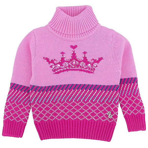 Водолазка для девочки Sweet BerryТолстовки, свитера, кардиганы<br>Эта водолазка для девочки отличается модным дизайном с узором и стразами. Удачный крой обеспечит ребенку комфорт и тепло. Высокое горло делает вещь идеальной для прохладной погоды. Она плотно прилегает к телу там, где нужно, и отлично сидит по фигуре. Натуральный хлопок обеспечит коже возможность дышать и не вызовет аллергии.<br>Одежда от бренда Sweet Berry - это простой и выгодный способ одеть ребенка удобно и стильно. Всё изделия тщательно проработаны: швы - прочные, материал - качественный, фурнитура - подобранная специально для детей.<br><br>Дополнительная информация:<br><br>цвет: розовый;<br>состав: 100% хлопок;<br>декорирована узором и стразами.<br><br>Водолазку для девочки от бренда Sweet Berry можно купить в нашем интернет-магазине.<br><br>Ширина мм: 230<br>Глубина мм: 40<br>Высота мм: 220<br>Вес г: 250<br>Цвет: розовый<br>Возраст от месяцев: 12<br>Возраст до месяцев: 15<br>Пол: Женский<br>Возраст: Детский<br>Размер: 80,98,86,92<br>SKU: 4931098