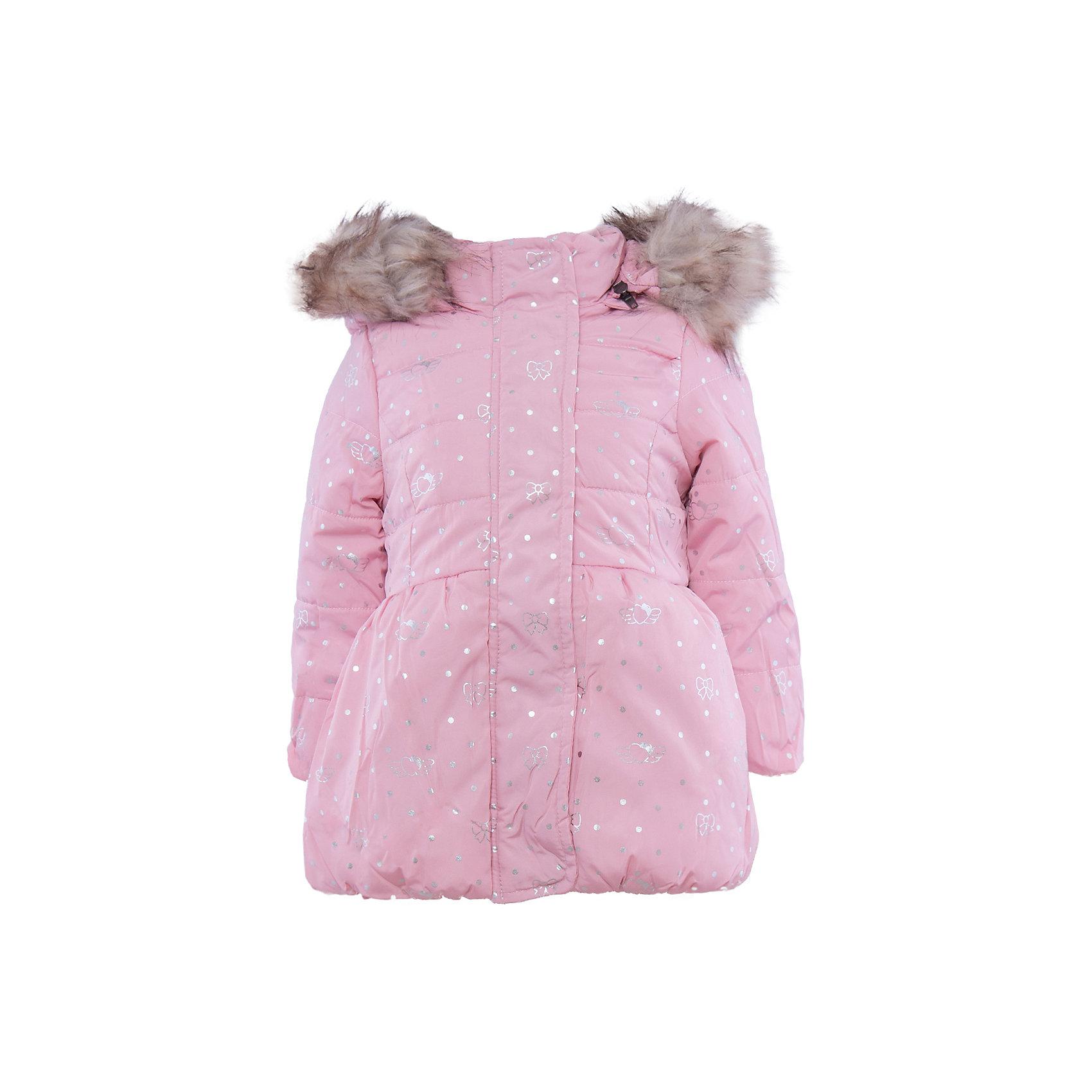 Куртка для девочки Sweet BerryВерхняя одежда<br>Куртка для девочки.<br><br>Температурный режим: до -5 градусов. Степень утепления – низкая. <br><br>* Температурный режим указан приблизительно — необходимо, прежде всего, ориентироваться на ощущения ребенка. Температурный режим работает в случае соблюдения правила многослойности – использования флисовой поддевы и термобелья.<br><br>Такая модель куртки для девочки отличается модным дизайном. Удачный крой обеспечит ребенку комфорт и тепло. Флисовая подкладка делает вещь идеальной для прохладной погоды. Она плотно прилегает к телу там, где нужно, и отлично сидит по фигуре. Декорирована модель опушкой на капюшоне и серебристым принтом.<br>Одежда от бренда Sweet Berry - это простой и выгодный способ одеть ребенка удобно и стильно. Всё изделия тщательно проработаны: швы - прочные, материал - качественный, фурнитура - подобранная специально для детей. <br><br>Дополнительная информация:<br><br>цвет: розовый;<br>капюшон с опушкой;<br>материал: верх, подкладка, наполнитель - 100% полиэстер;<br>застежка: молния;<br>принт.<br><br>Куртку для девочки от бренда Sweet Berry можно купить в нашем интернет-магазине.<br><br>Ширина мм: 356<br>Глубина мм: 10<br>Высота мм: 245<br>Вес г: 519<br>Цвет: розовый<br>Возраст от месяцев: 24<br>Возраст до месяцев: 36<br>Пол: Женский<br>Возраст: Детский<br>Размер: 98,80,86,92<br>SKU: 4931148